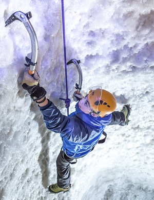 Ice Climbing at Vertical Chill in Covent Garden, London