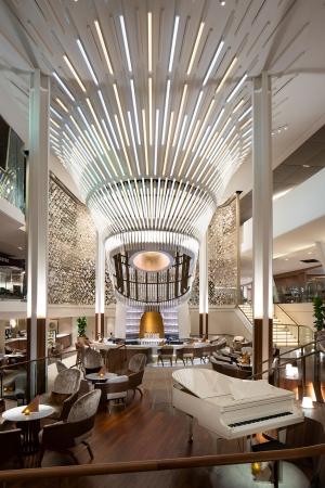 Celebrity Cruises: Celebrity EDGE's main cocktail bar