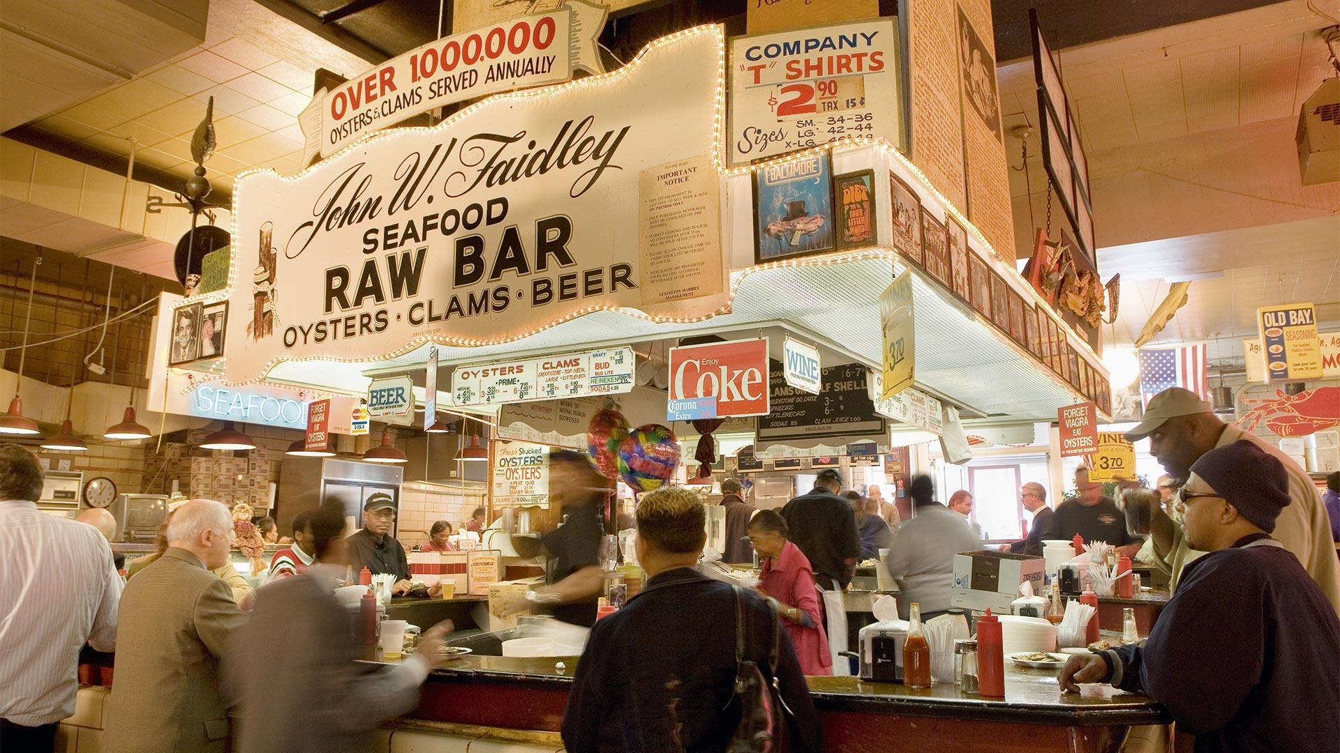 Lexington Market in Baltimore, USA