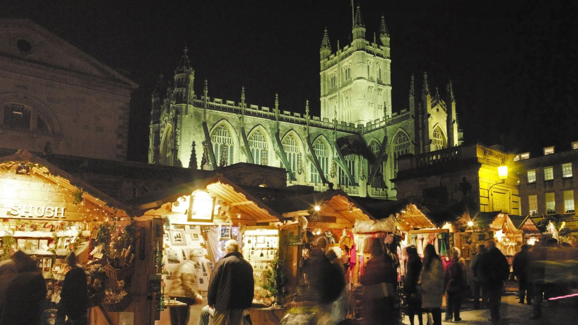 Bath Christmas Market, UK