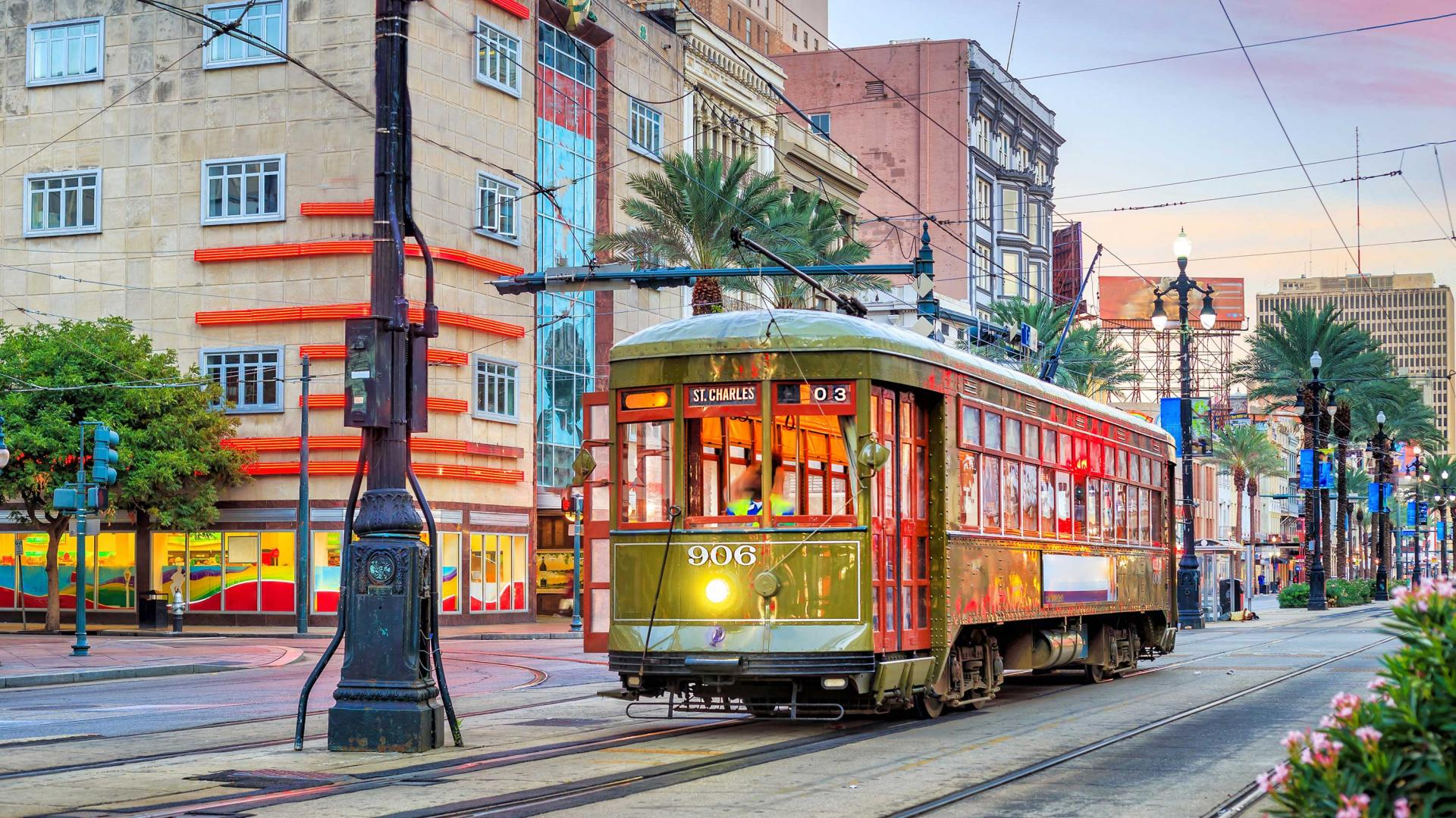 New Orleans tram system