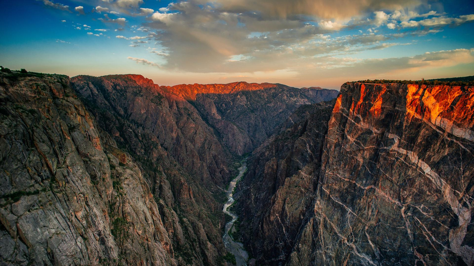 Black Canyon of the Gunnison in Colorado, USA
