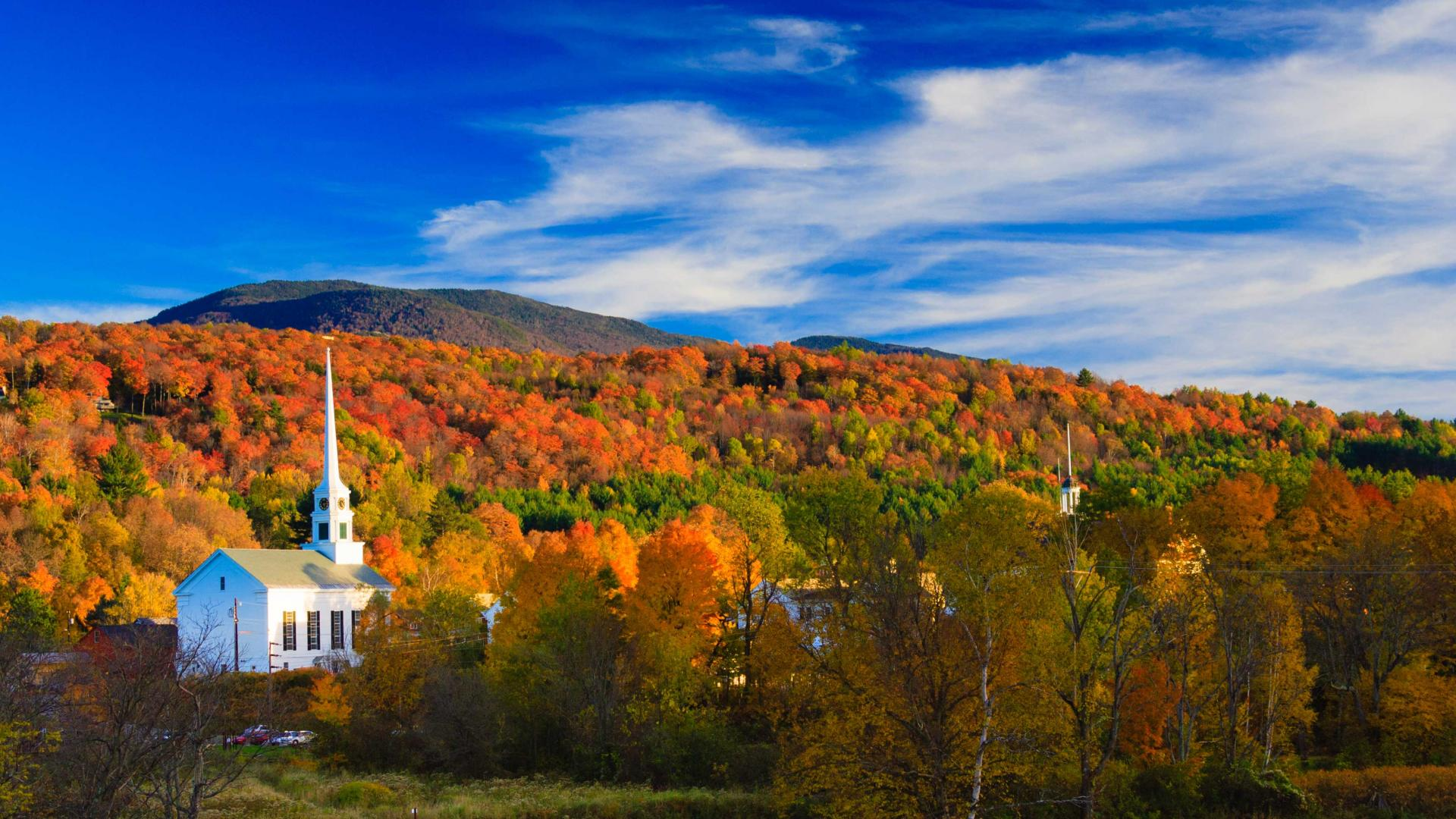 American road trip in New England