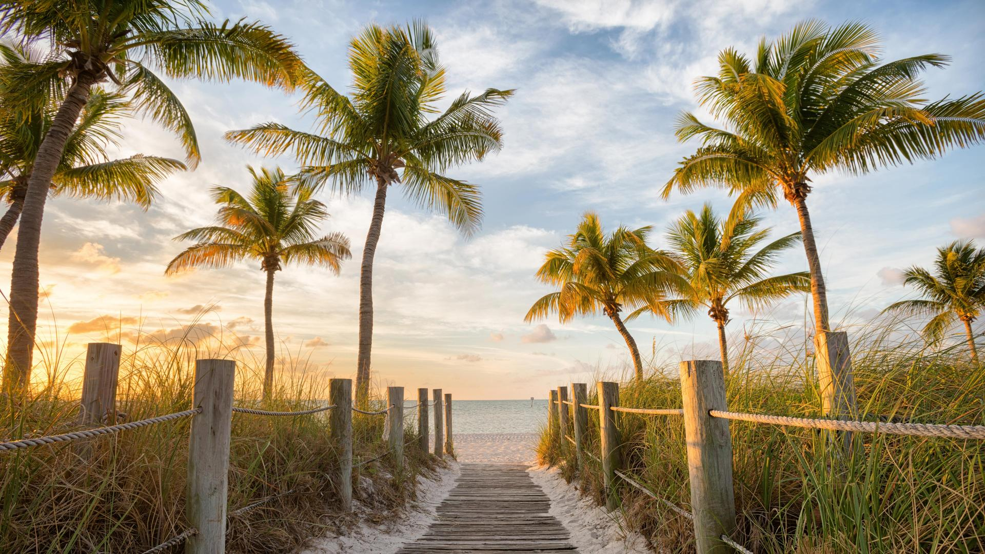 American road trip to Key West, Florida