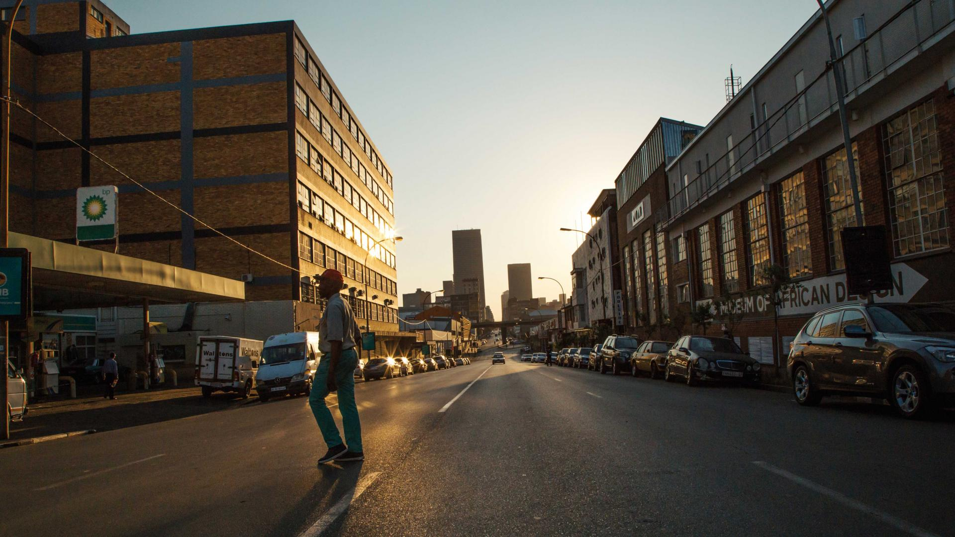 Maboneng District in Johannesburg, South Africa