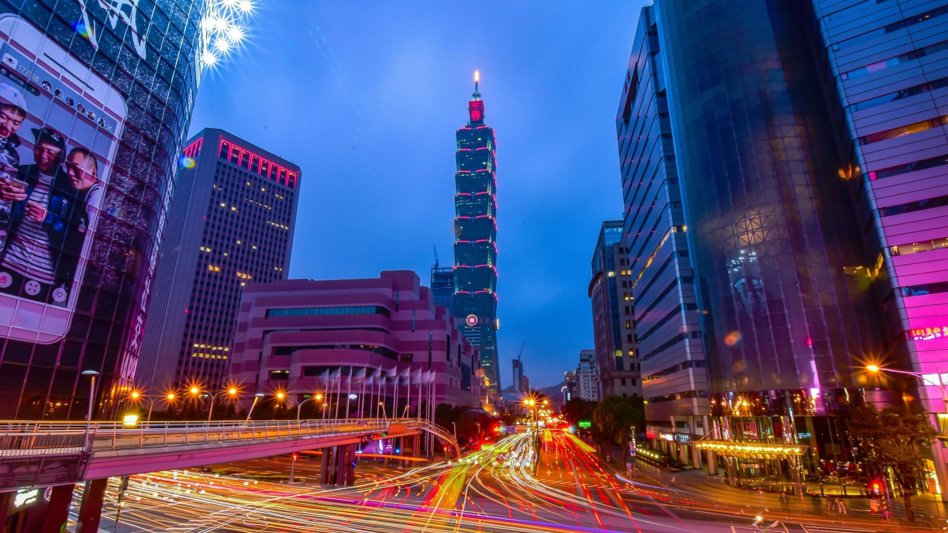 Best city breaks: traffic in Taipei, Taiwan