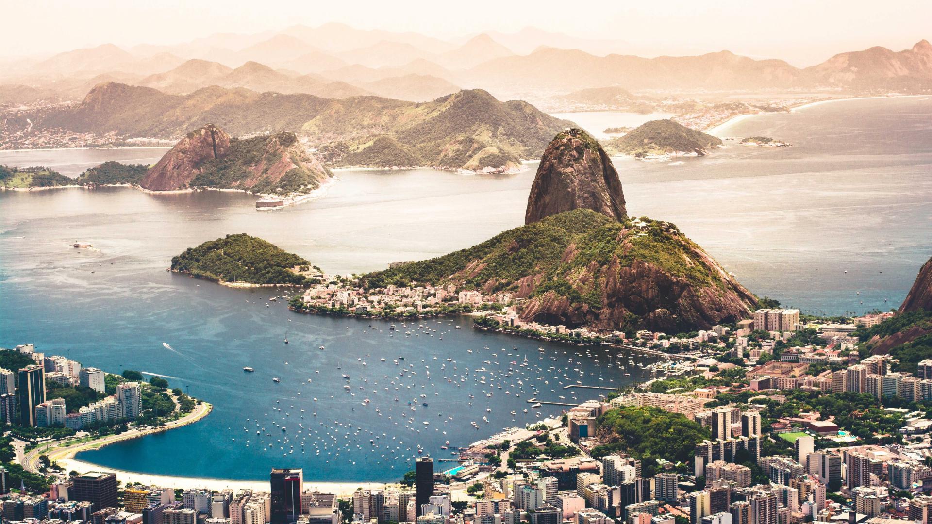 Best city breaks: view over Rio de Janeiro, Brazil