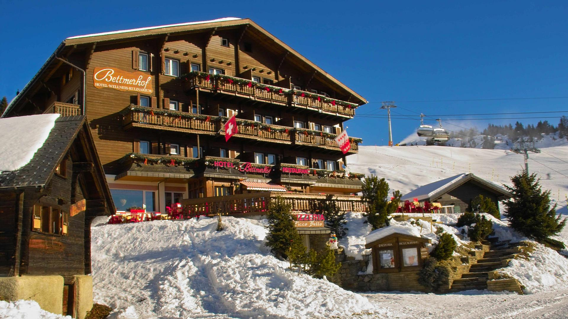 Hotel Bettmerhof, Valais