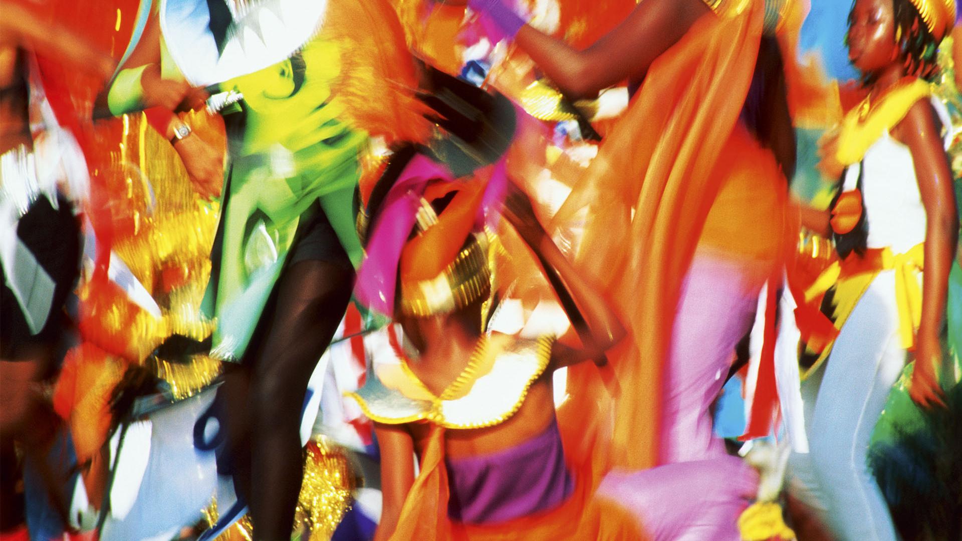 Trinidad carnival art