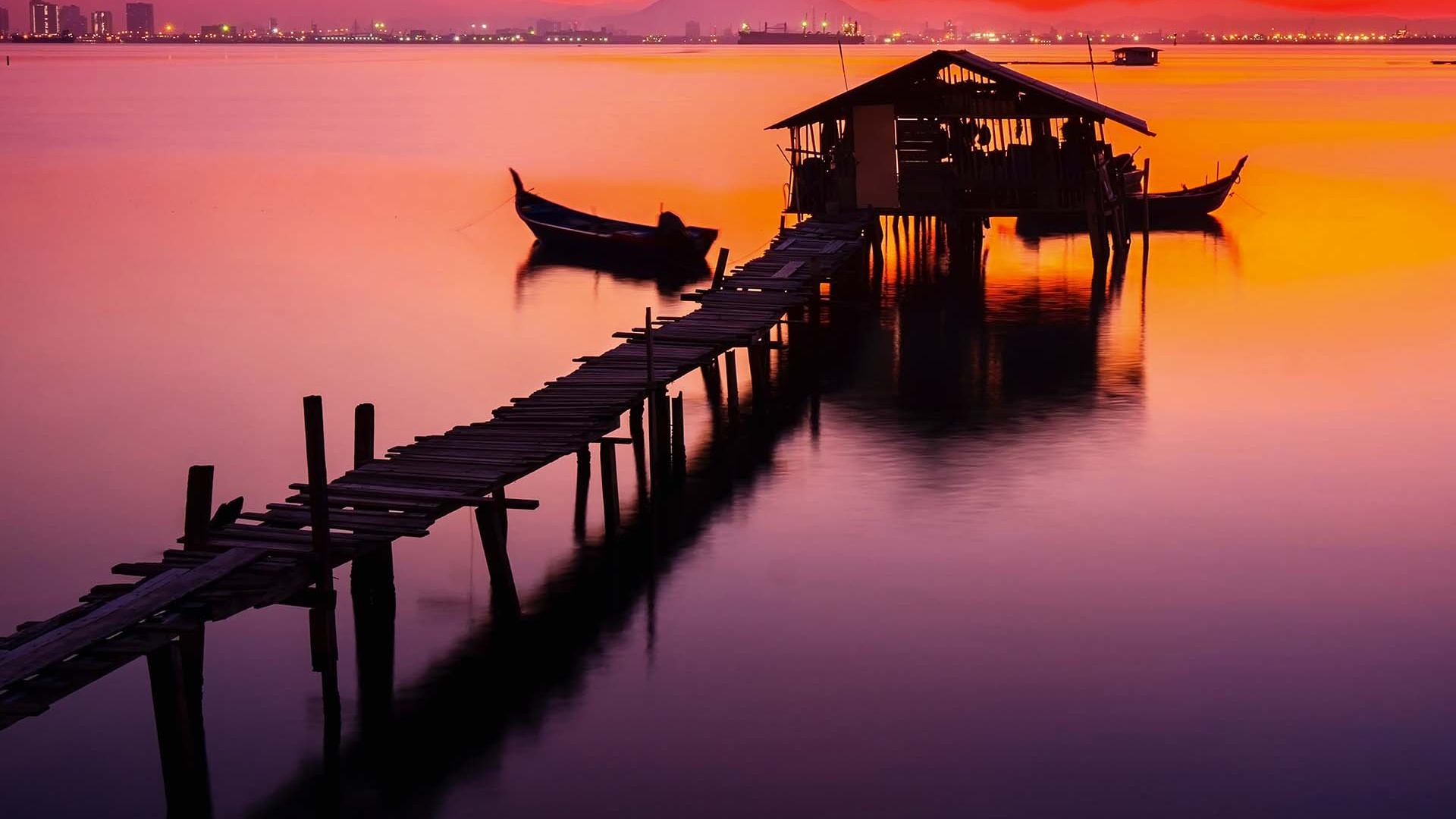 A jetty in Thailand