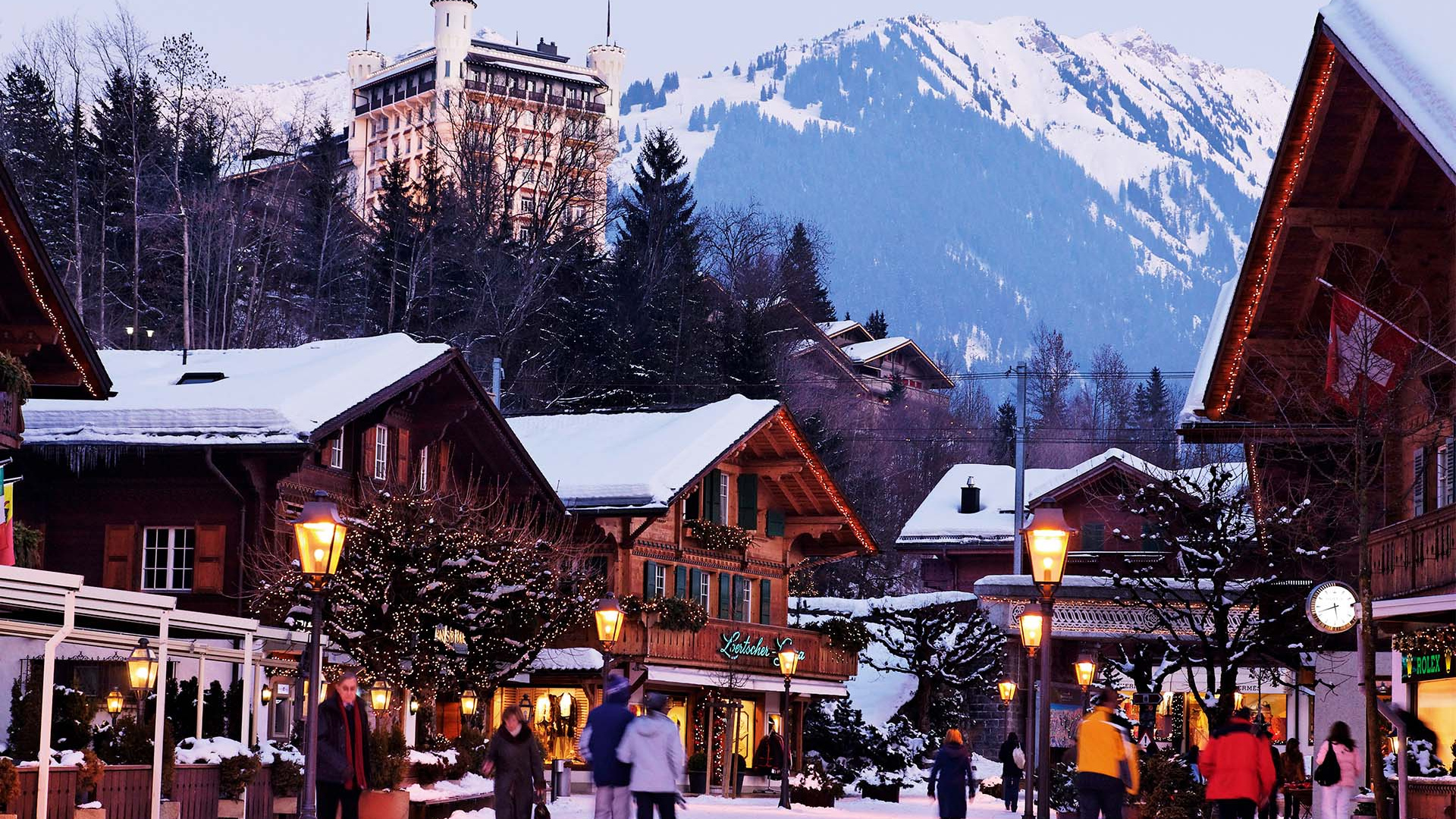 Gstaad The Swiss ski resort with a glamorous history Escapism