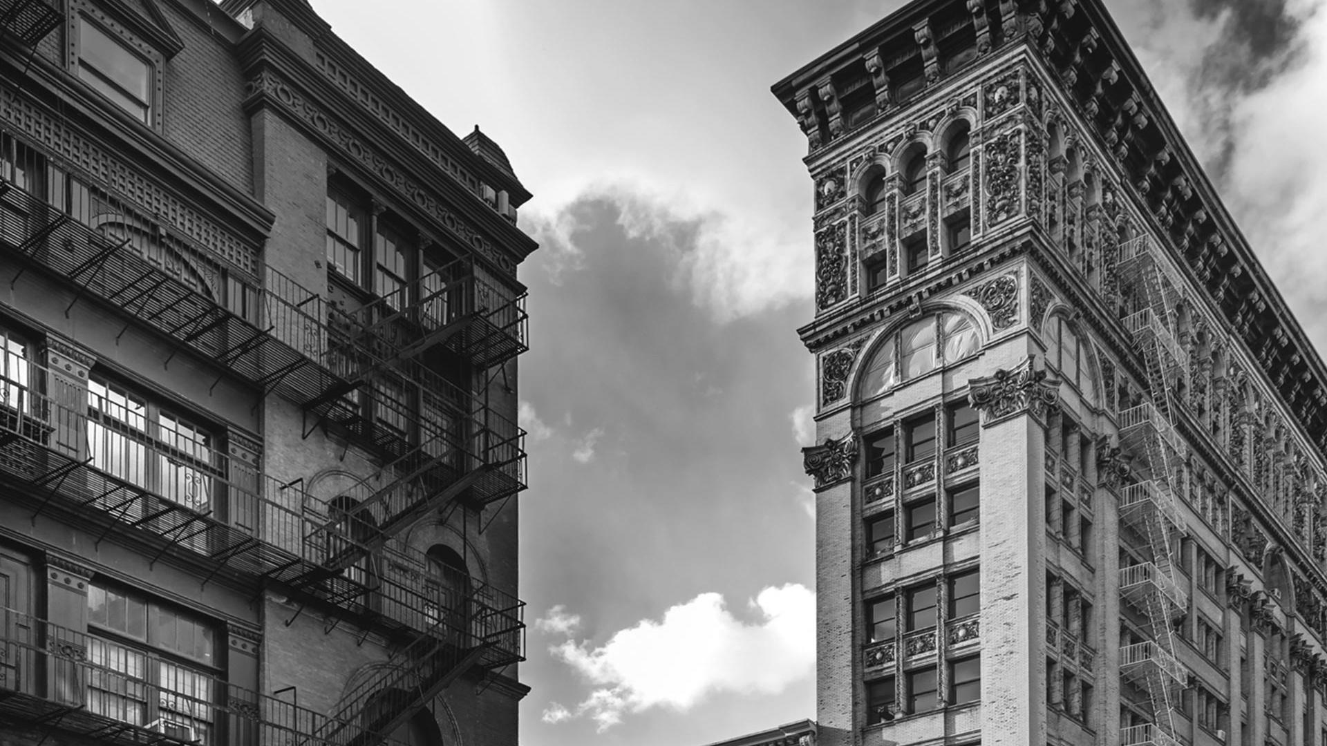 Eastside view, New York, by Serge Ramelli