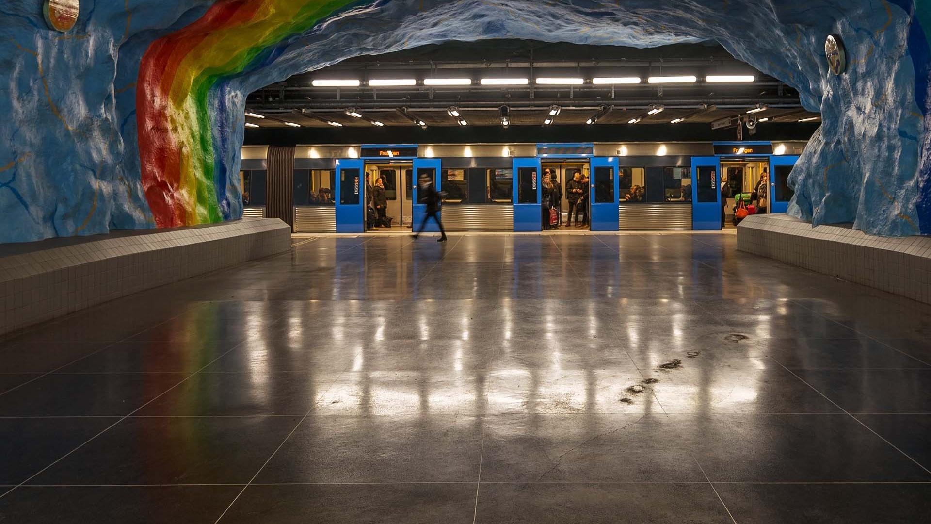 kungsträdgården metro station stockholm