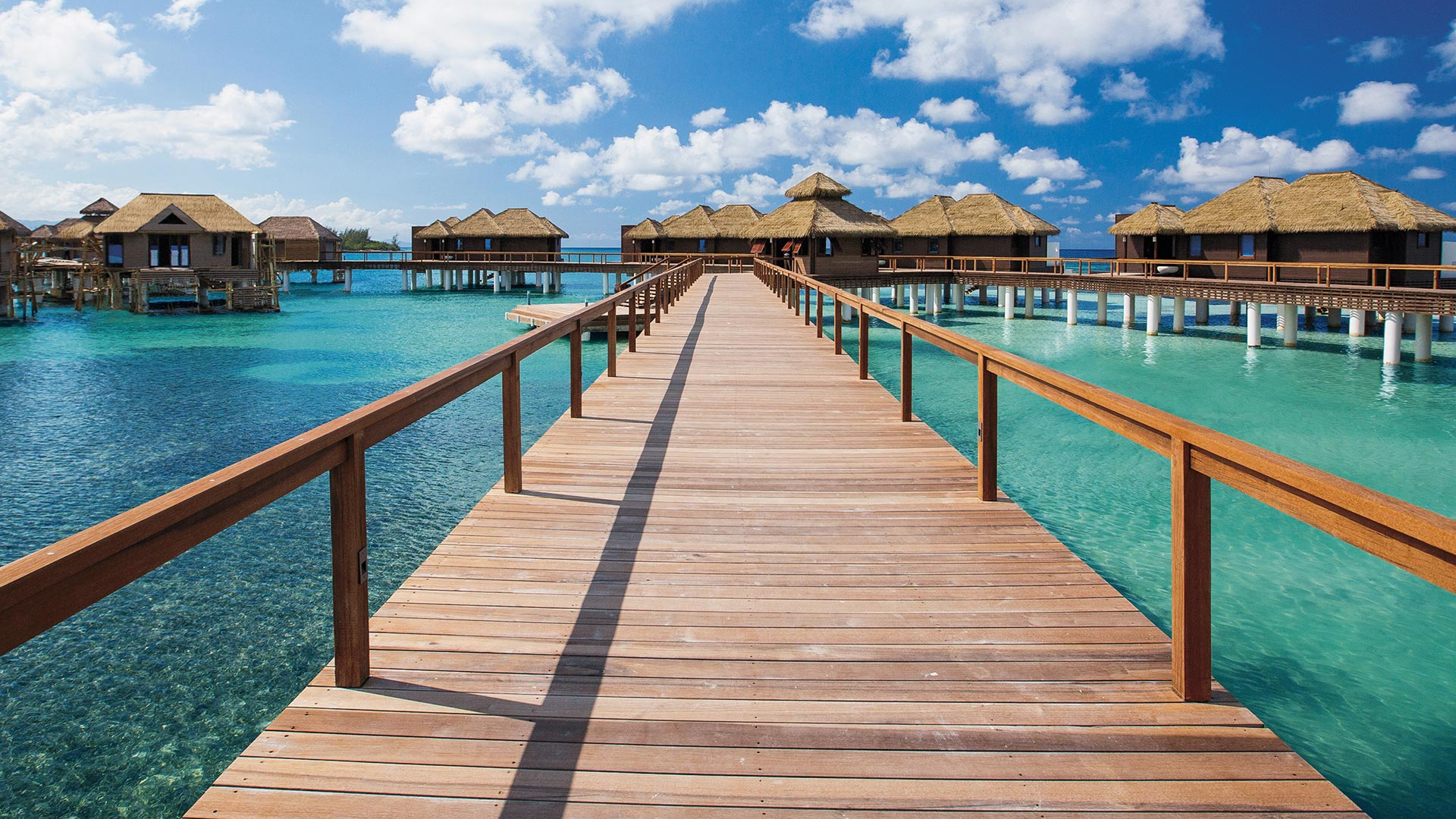 Over-the-water villas at Sandals Grande St Lucian