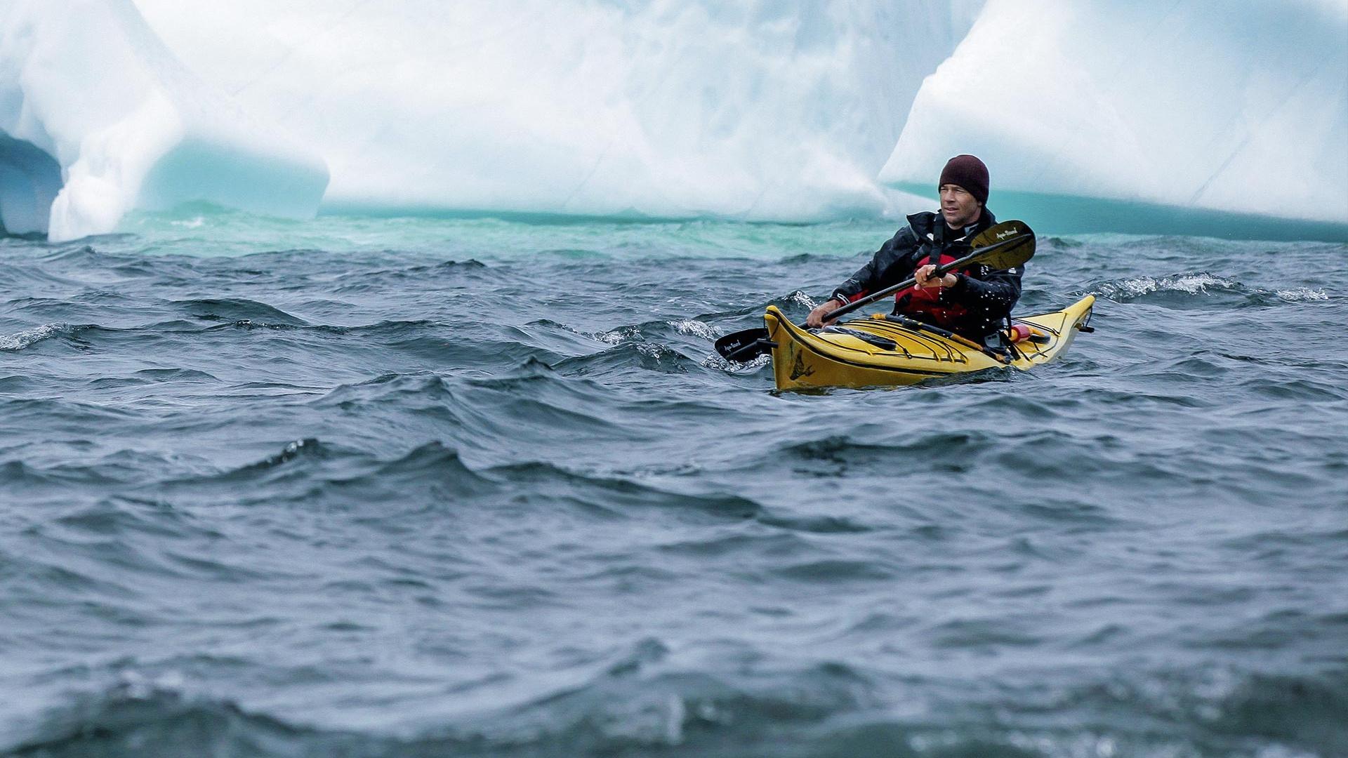Kayaking in Newfoundland, Canada