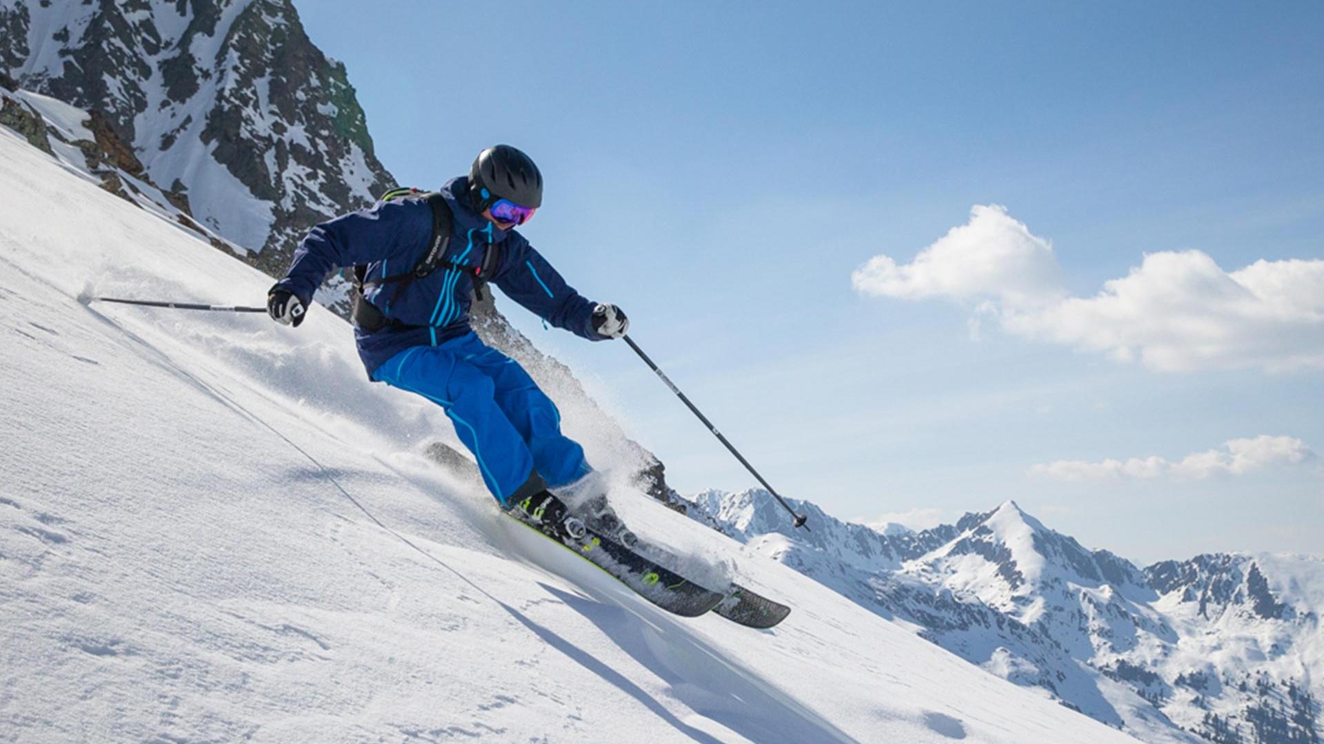 Skiing with Ellis Brigham Mountain Sports
