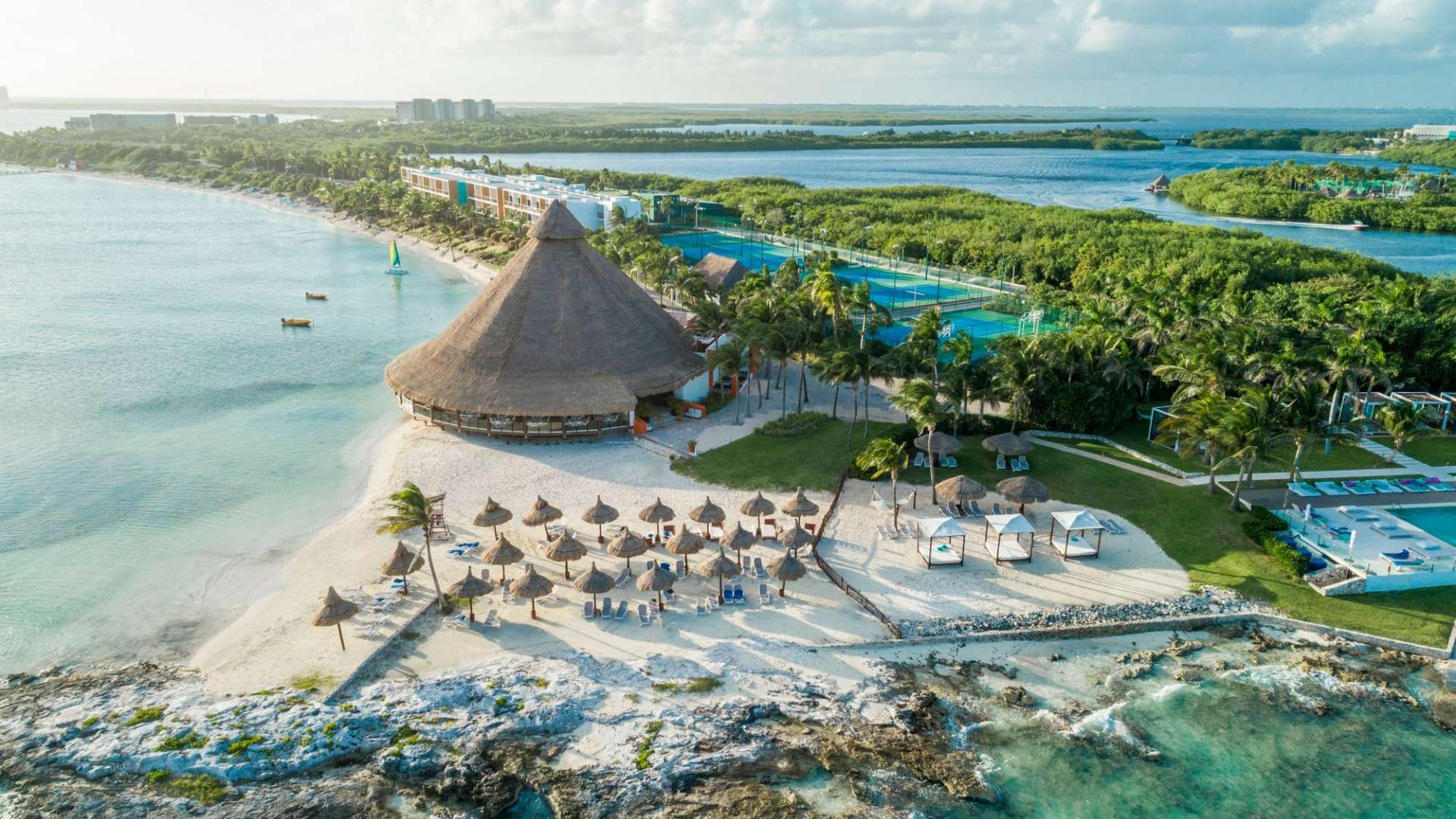 Club Med's Cancún Yucatán resort in Mexico