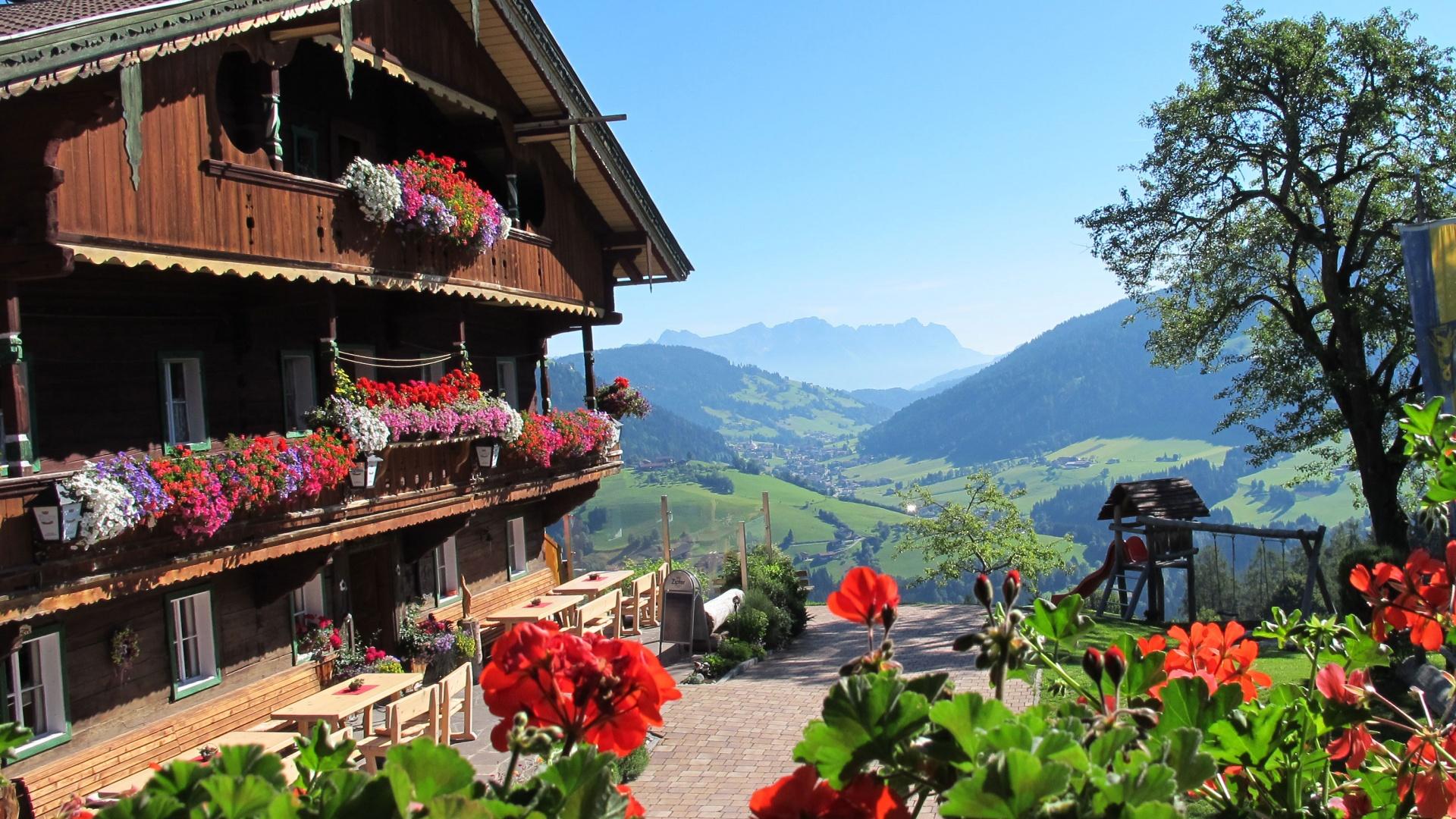 A traditional building in Wildschoenau, Tirol