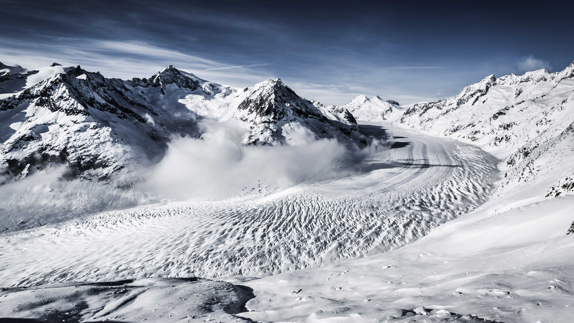 Winter in Valais: Aletsch Arena