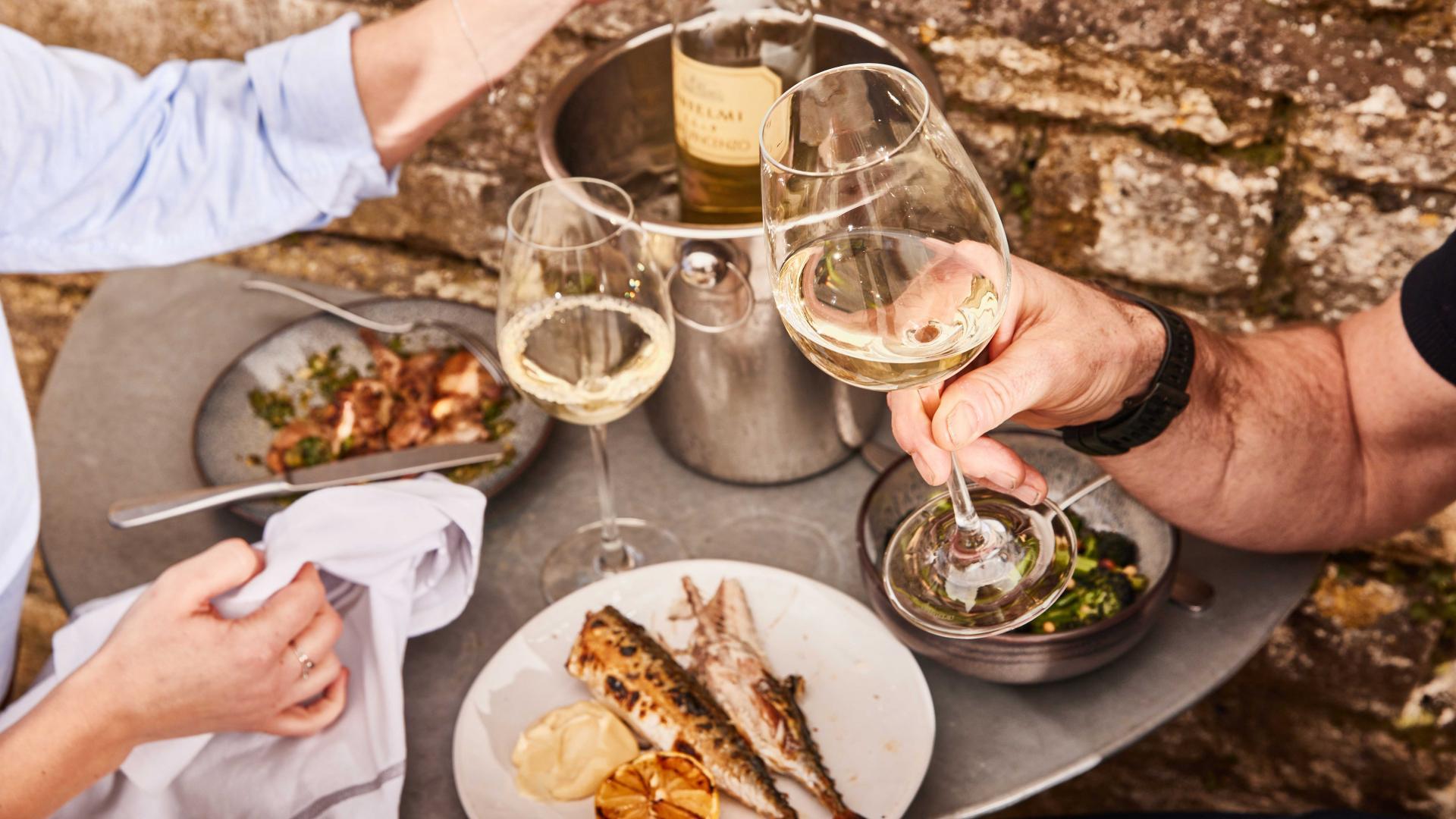 Best restaurants near London: the terrace at Wilding, Oxford