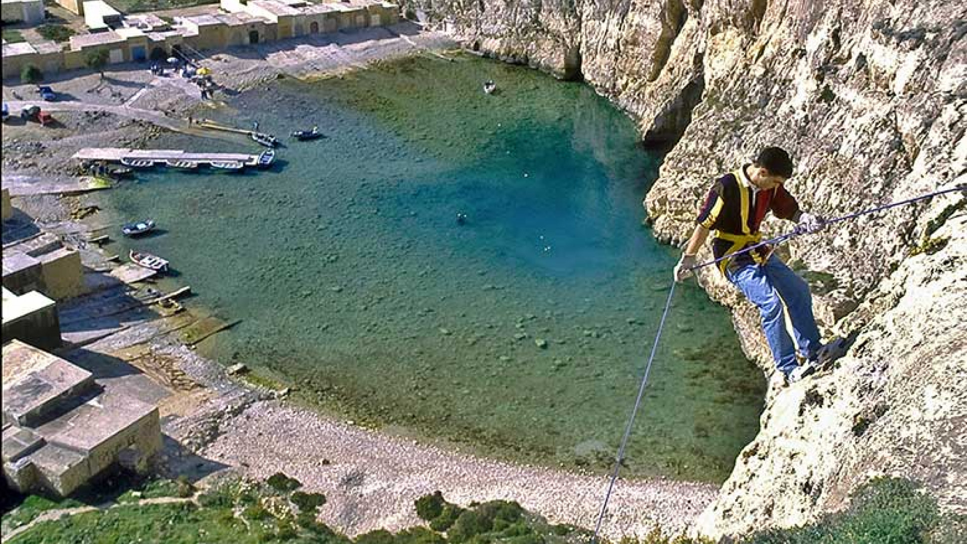Abseiling-in-Gozo