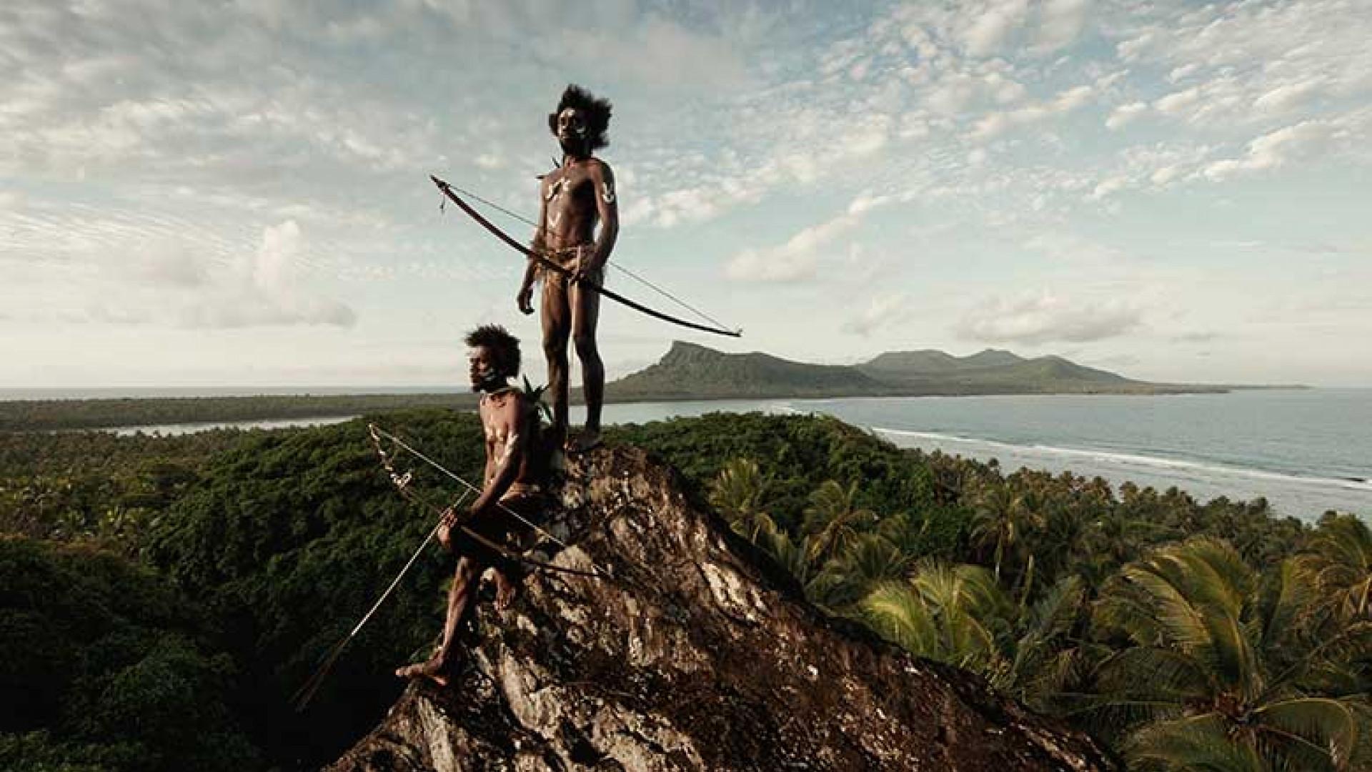 Ni-Vanuatu,-Rock-of-Rah,-Rah-Lava-Island,-Torba-Province,-Vanuatu,-2011