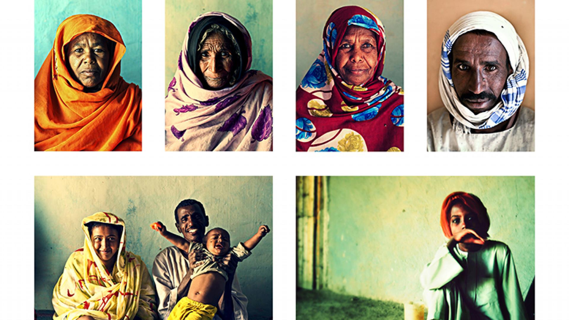 Sudanese-Portraits