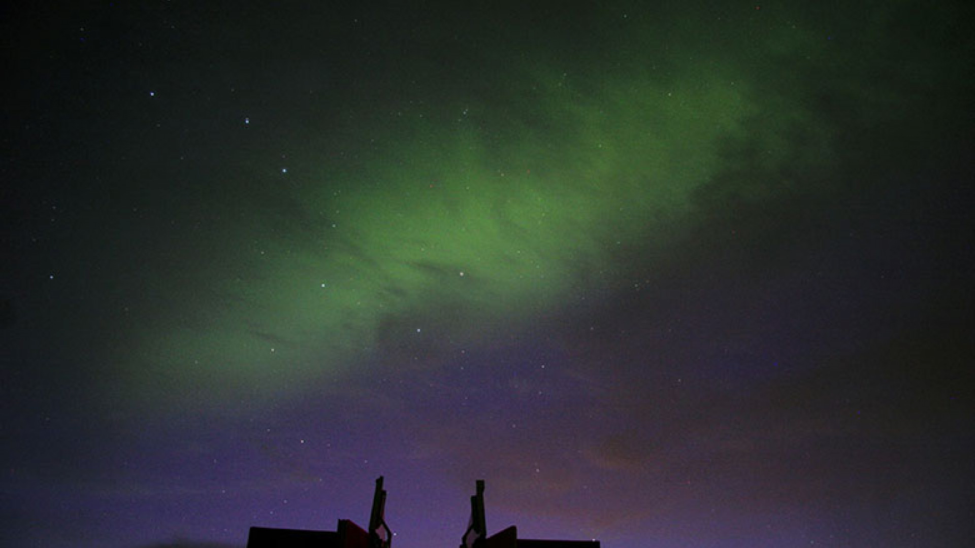 Aurora-(Northern-Lights)-over-Kielder-Obs