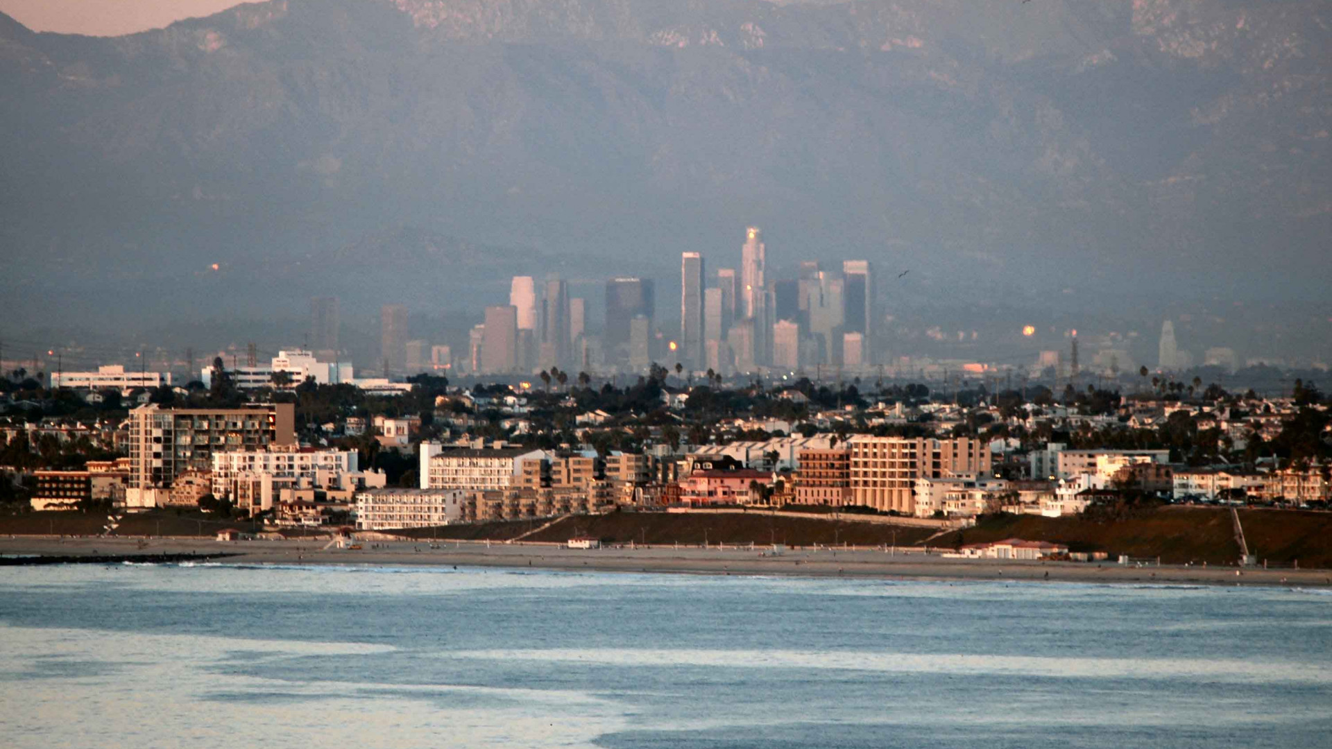 View of Downtown from Redondo Beach LR