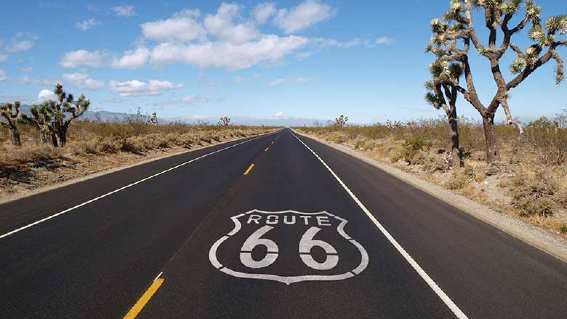 Route 66 cycling