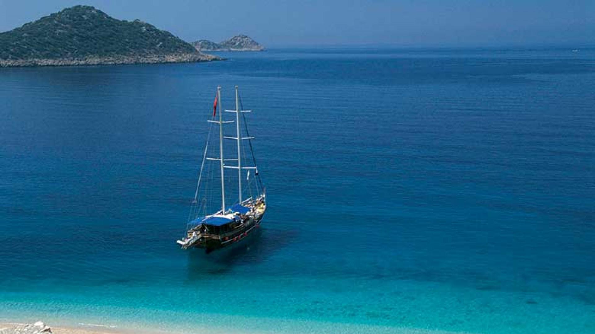 Sailing the Turkish coast