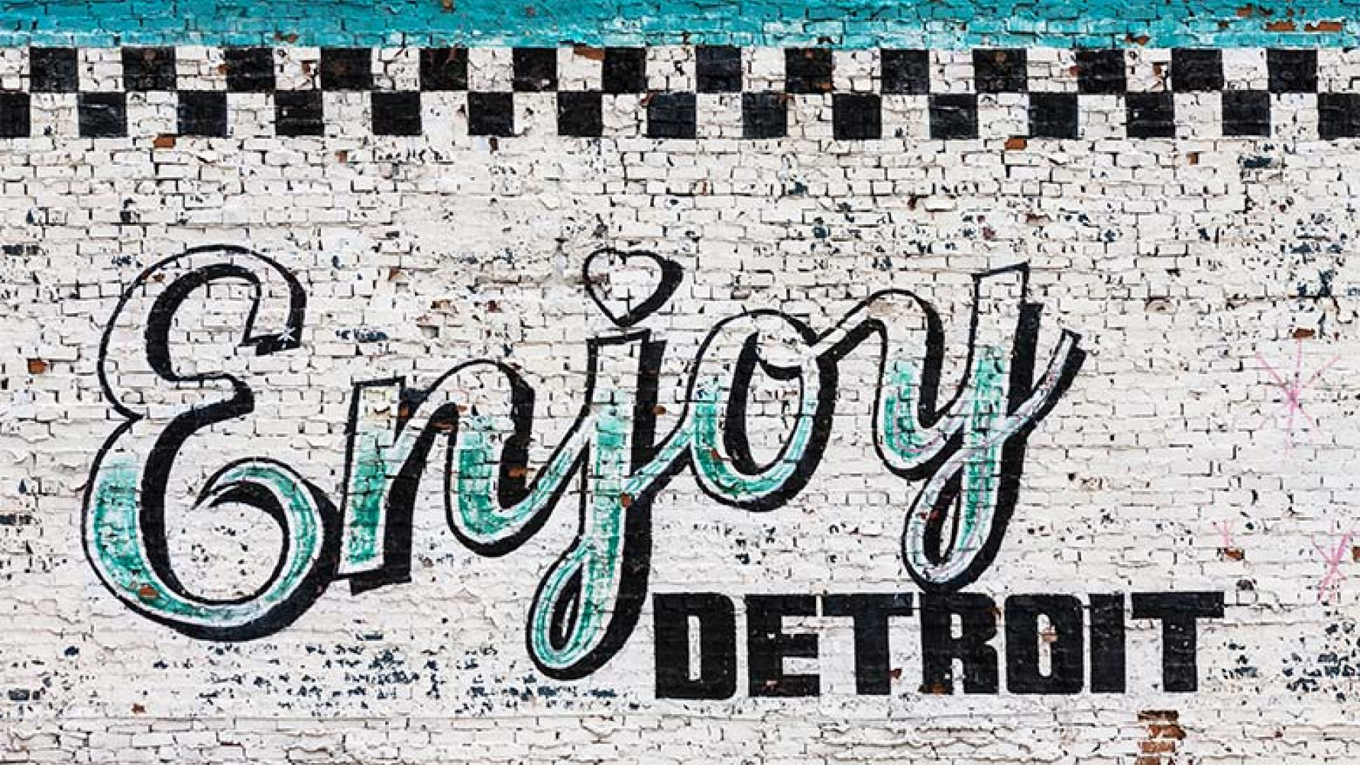 The future 39 s bright the revival of detroit michigan for Enjoy detroit mural