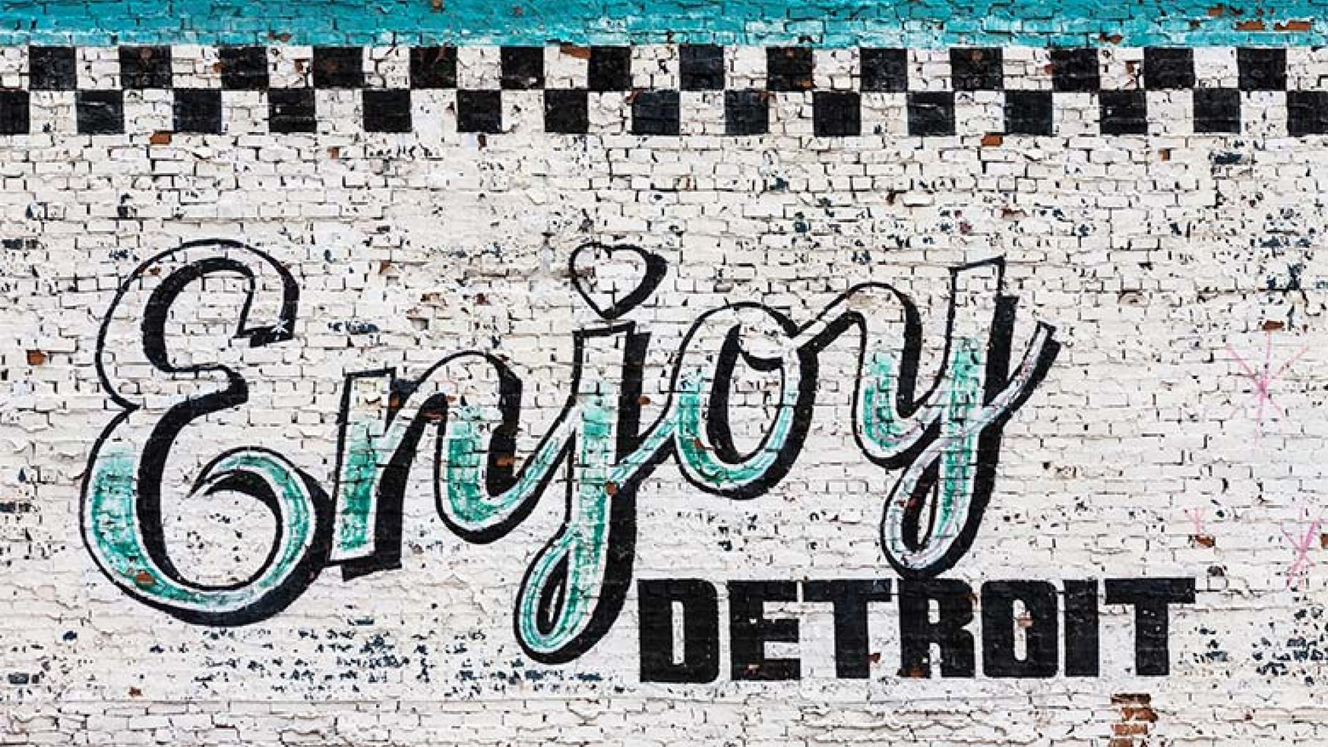 Enjoy Detroit mural
