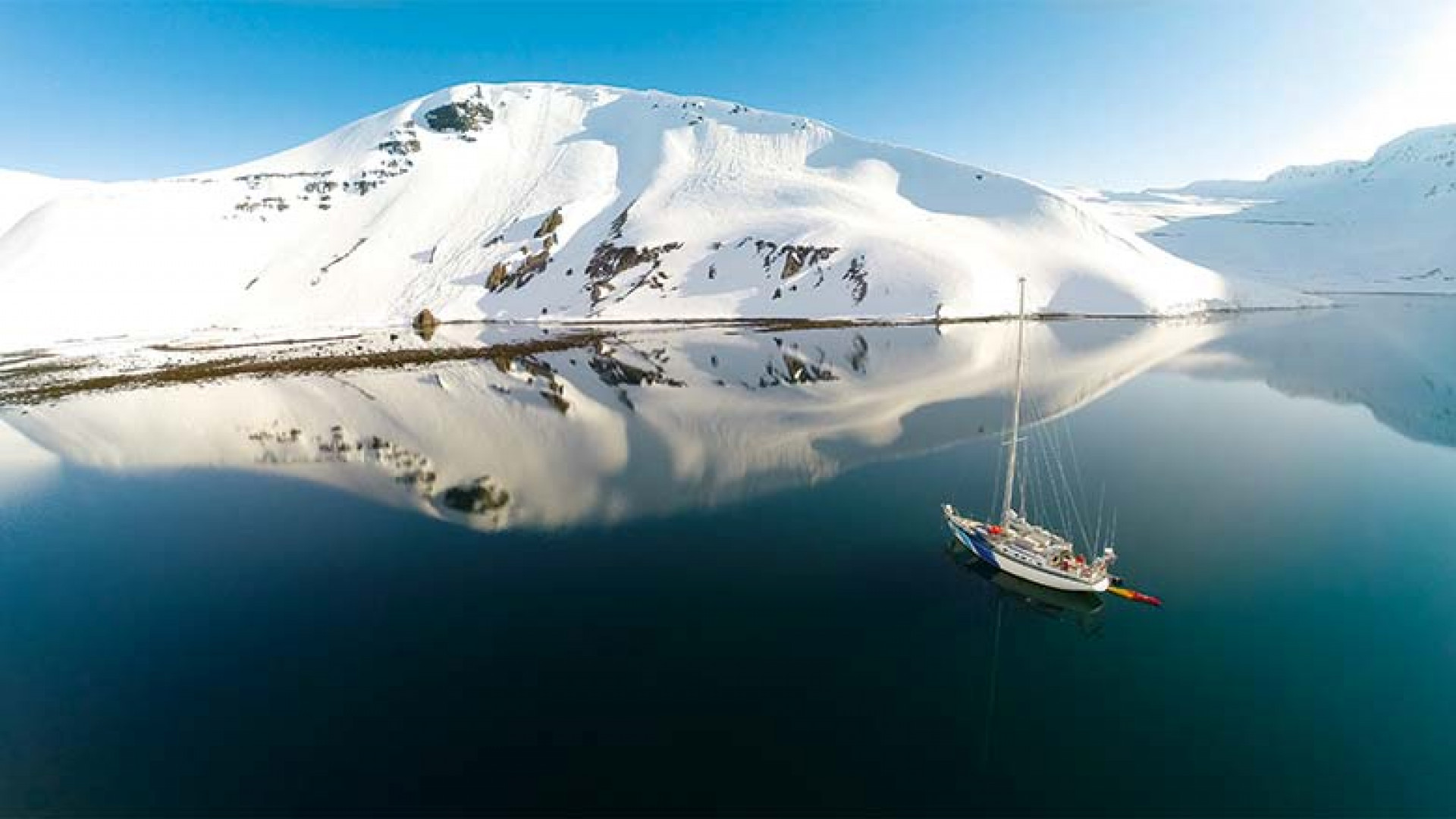 Sailing and skiing through the West Fjords of Iceland
