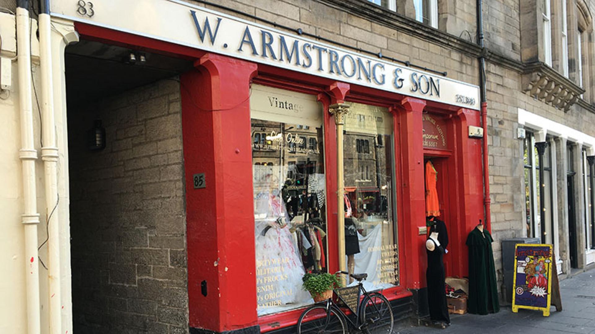Armstrongs vintage Edinburgh