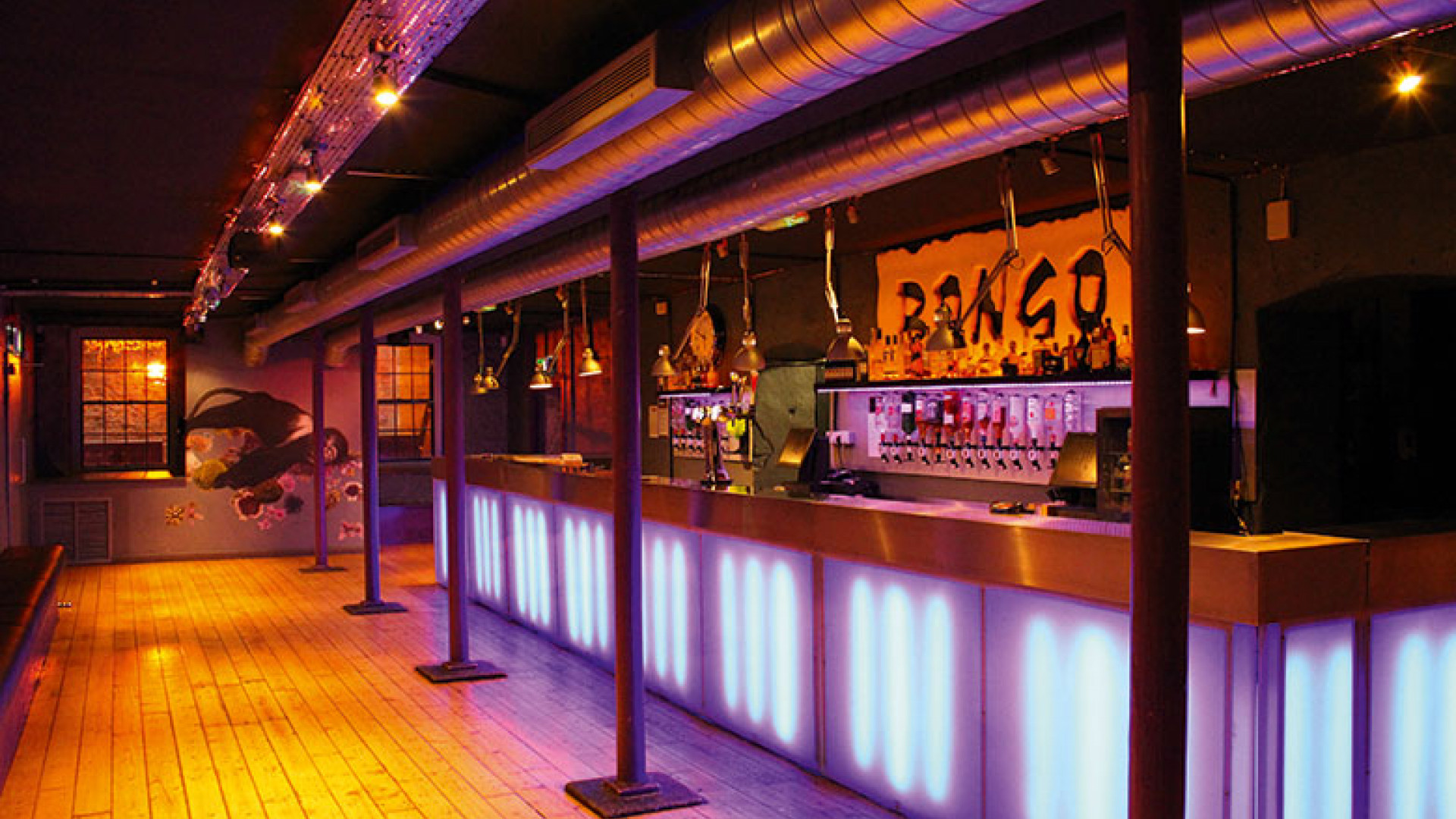 The Bongo Club Edinburgh bar