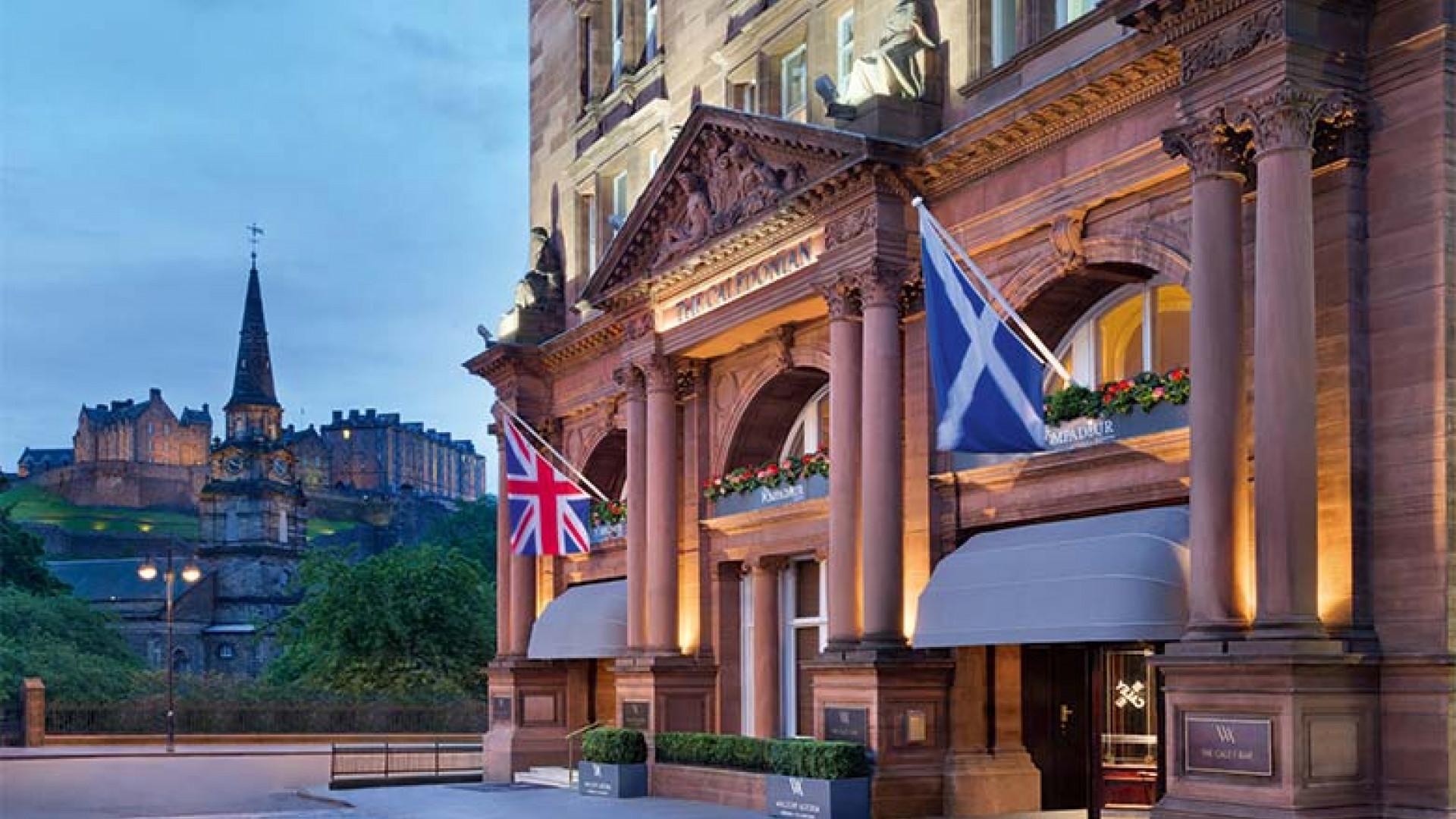 The Caledonian Edinburgh exterior