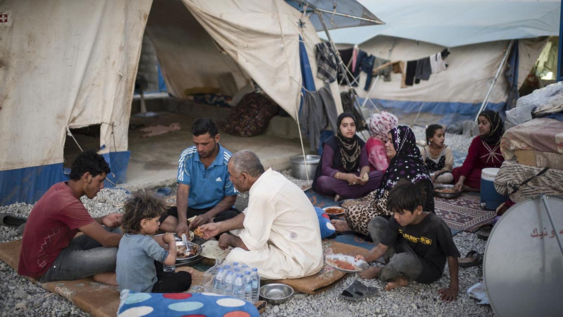 Ashti refugee camp in Iraq