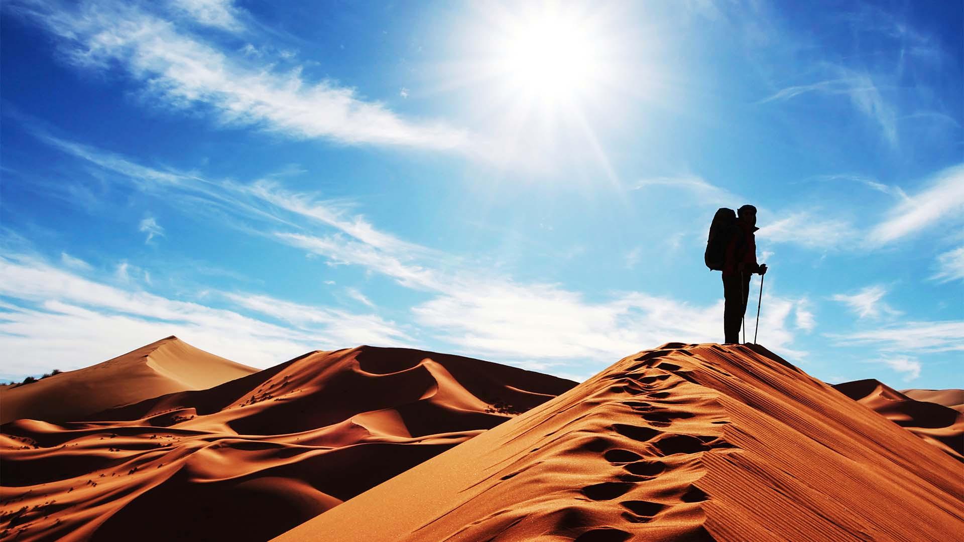 Sand dune Morocco