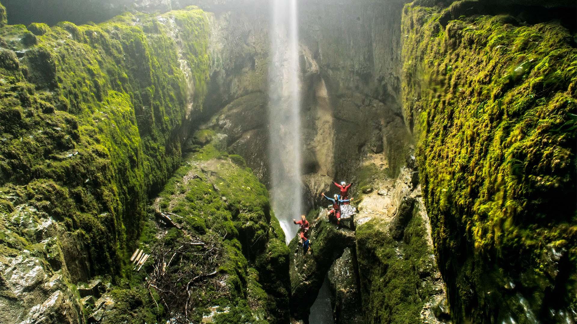 Caving in the Yorkshire Dales and Peak District