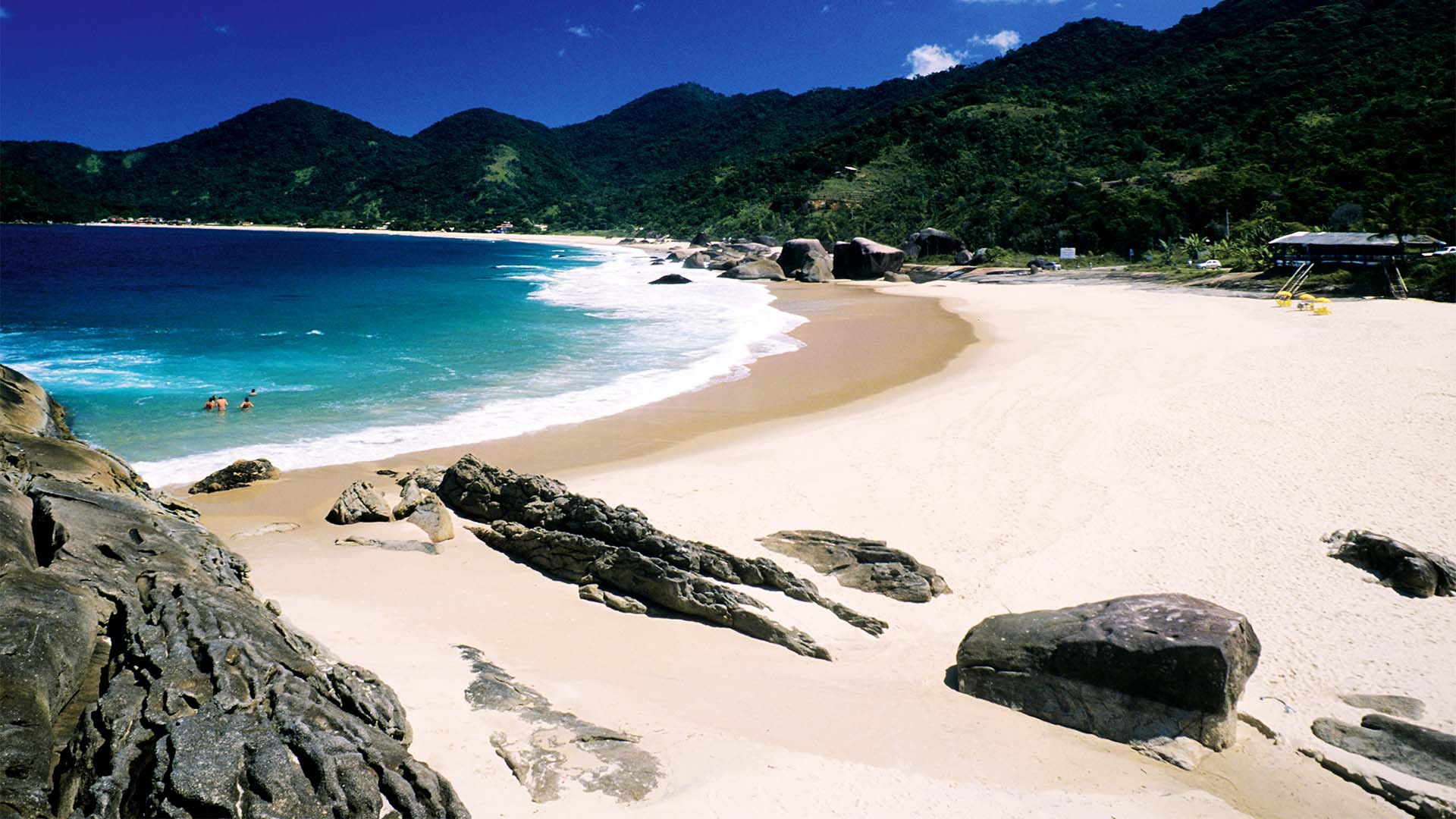 Photograph of tropical beach in Brazil