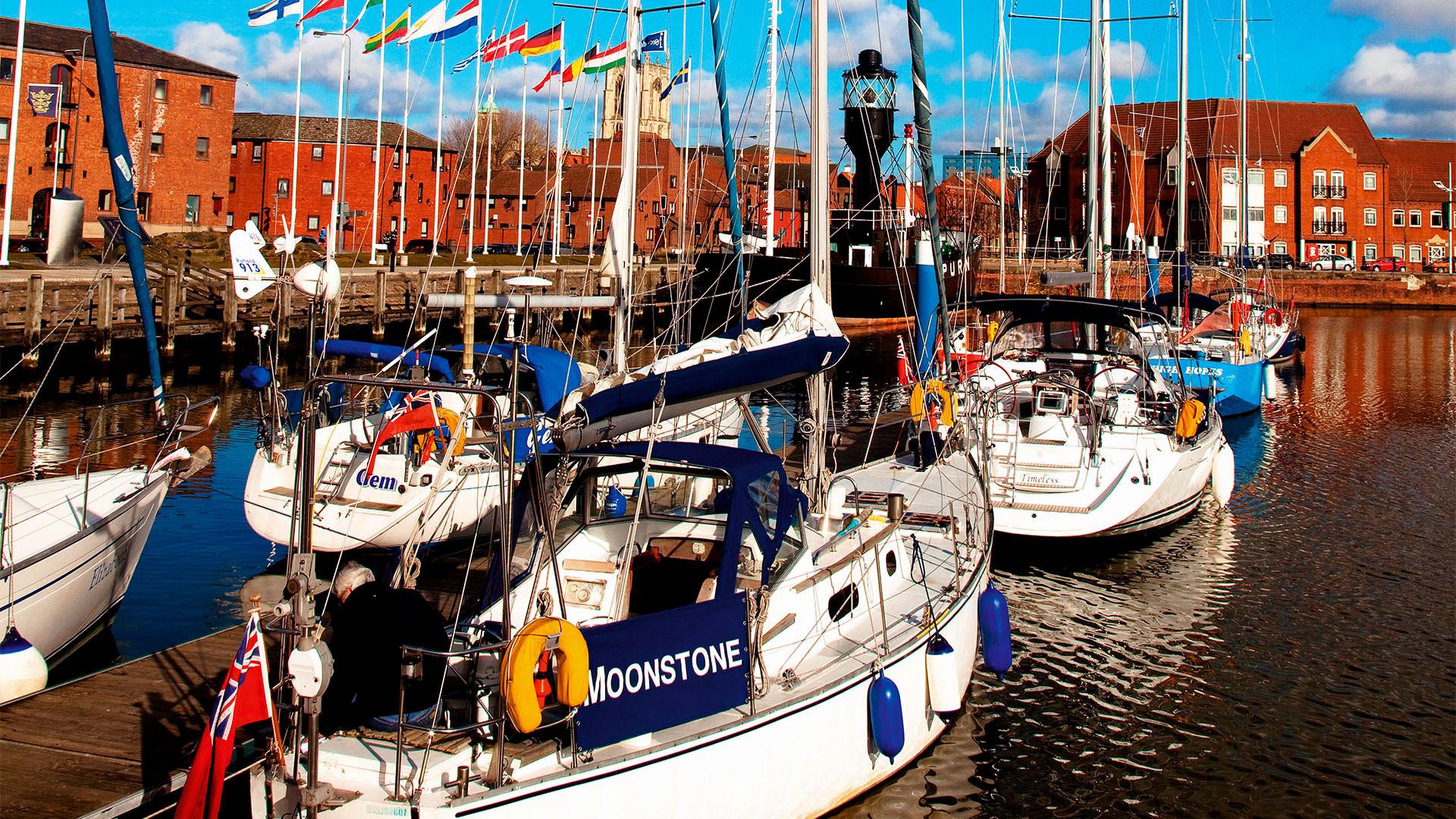 Photograph of Hull Marina