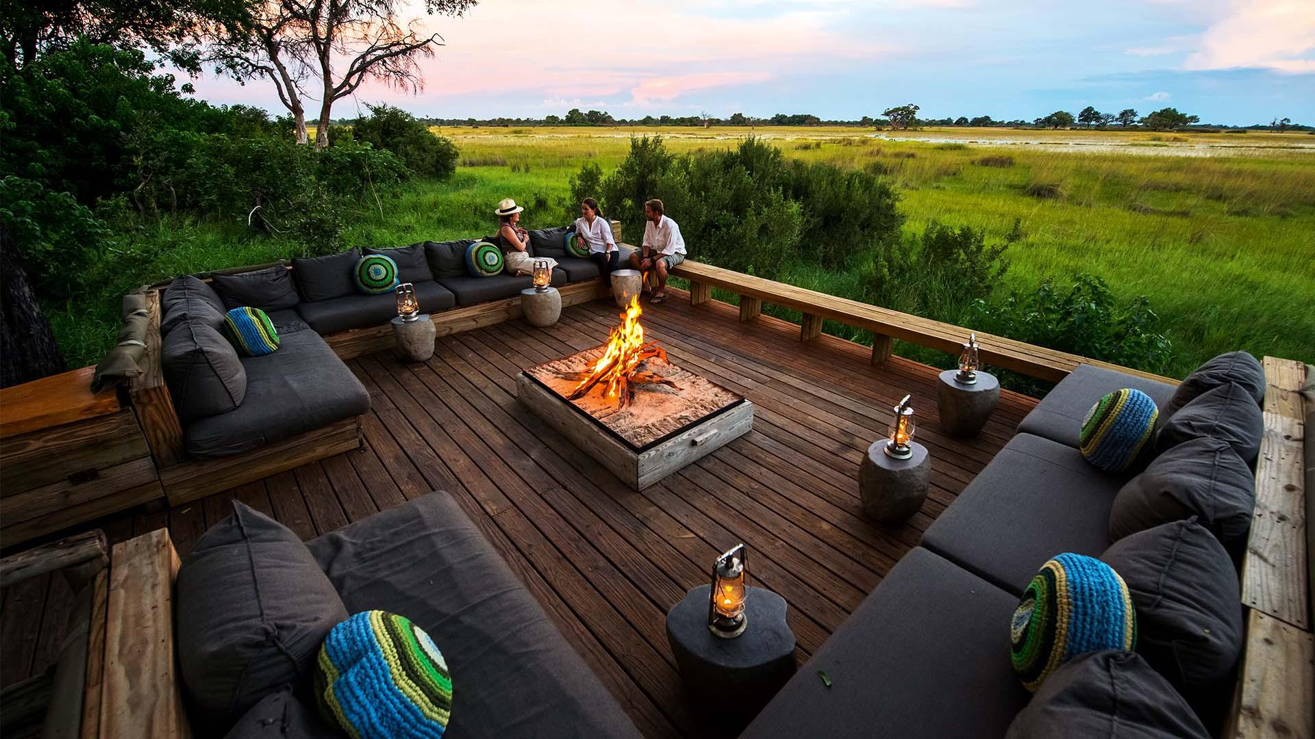 Vumbura Plains Camps, Okavango Delta, Botswana, Africa