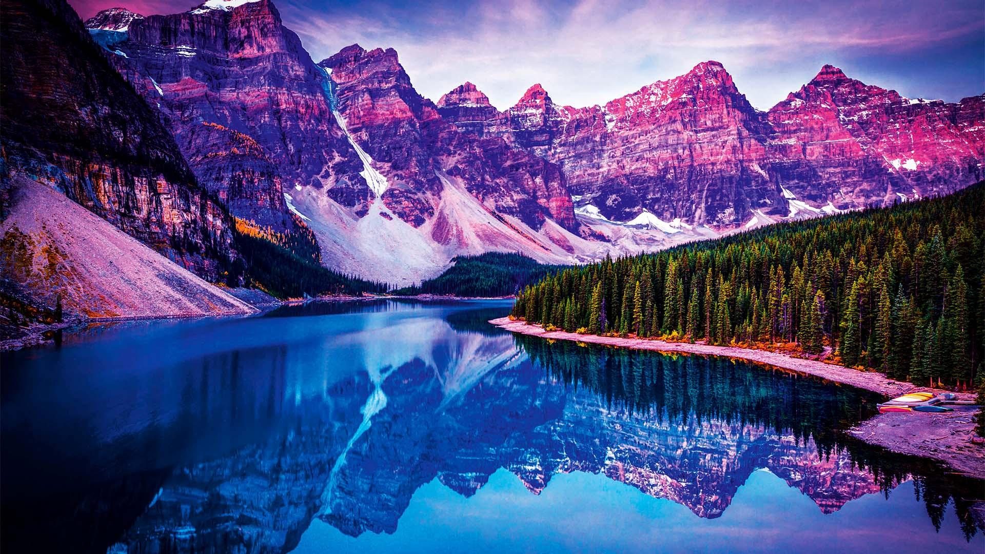 Wan Ru Chen, Moraine Lake, Canadian Rockies, Canada