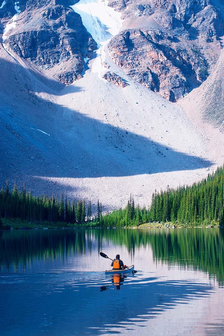 Jean-Pierre Lescourret, Moraine Lake, Banff National Park, Canada