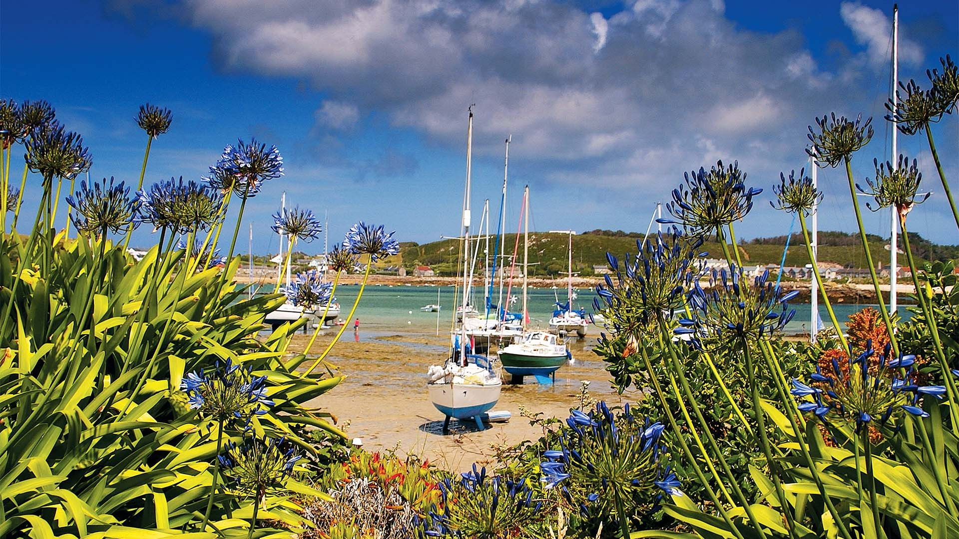 Green Bay, Bryher, Isles of Scilly, UK