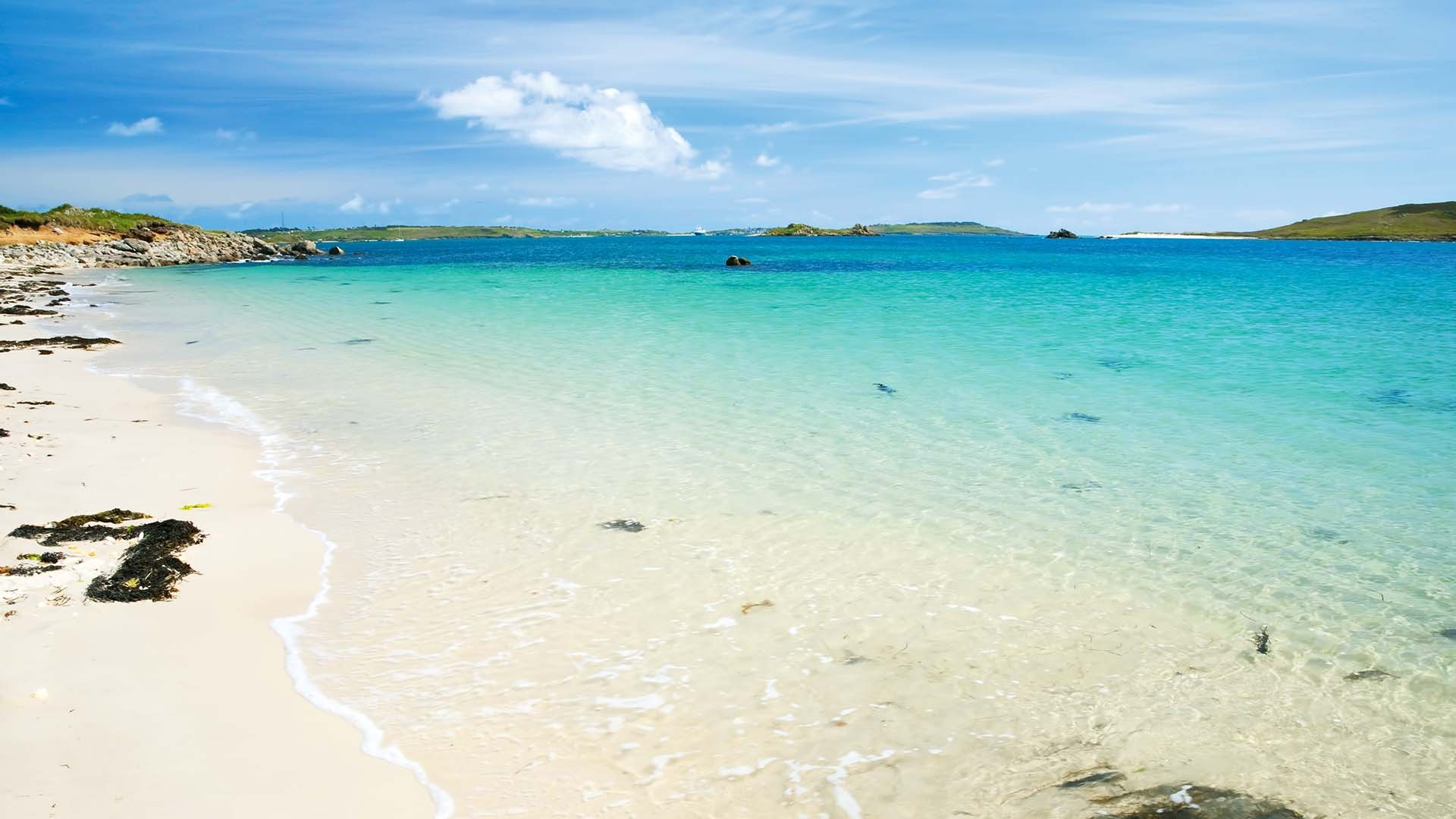 Rushy Bay, Bryher, Isles of Scilly, UK