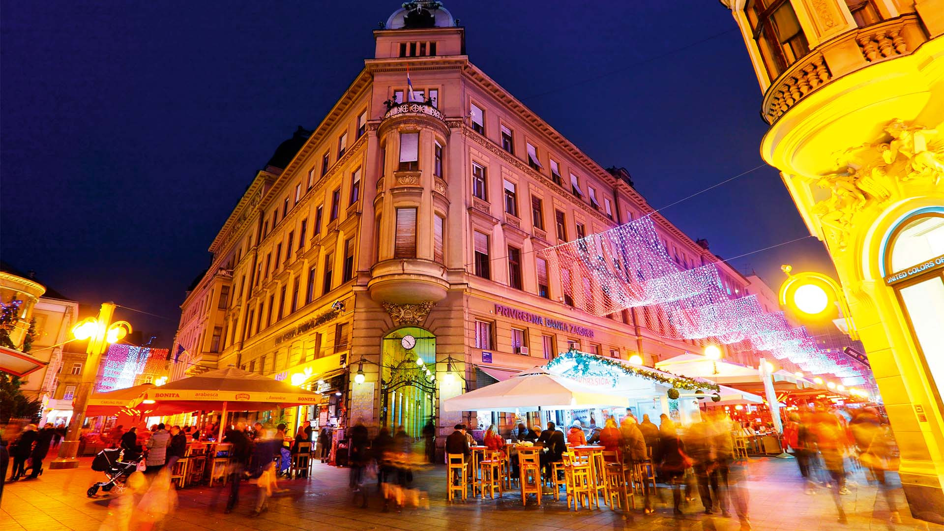 Zagreb city centre, Croatia