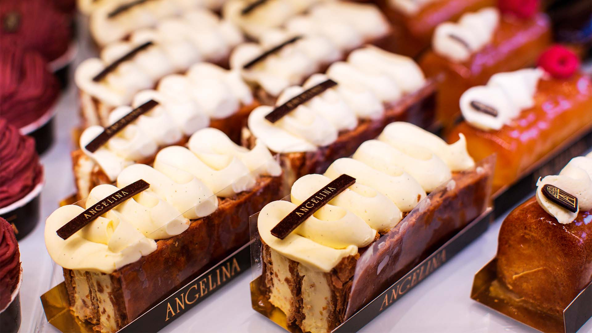 Angelina pastries in Paris, France