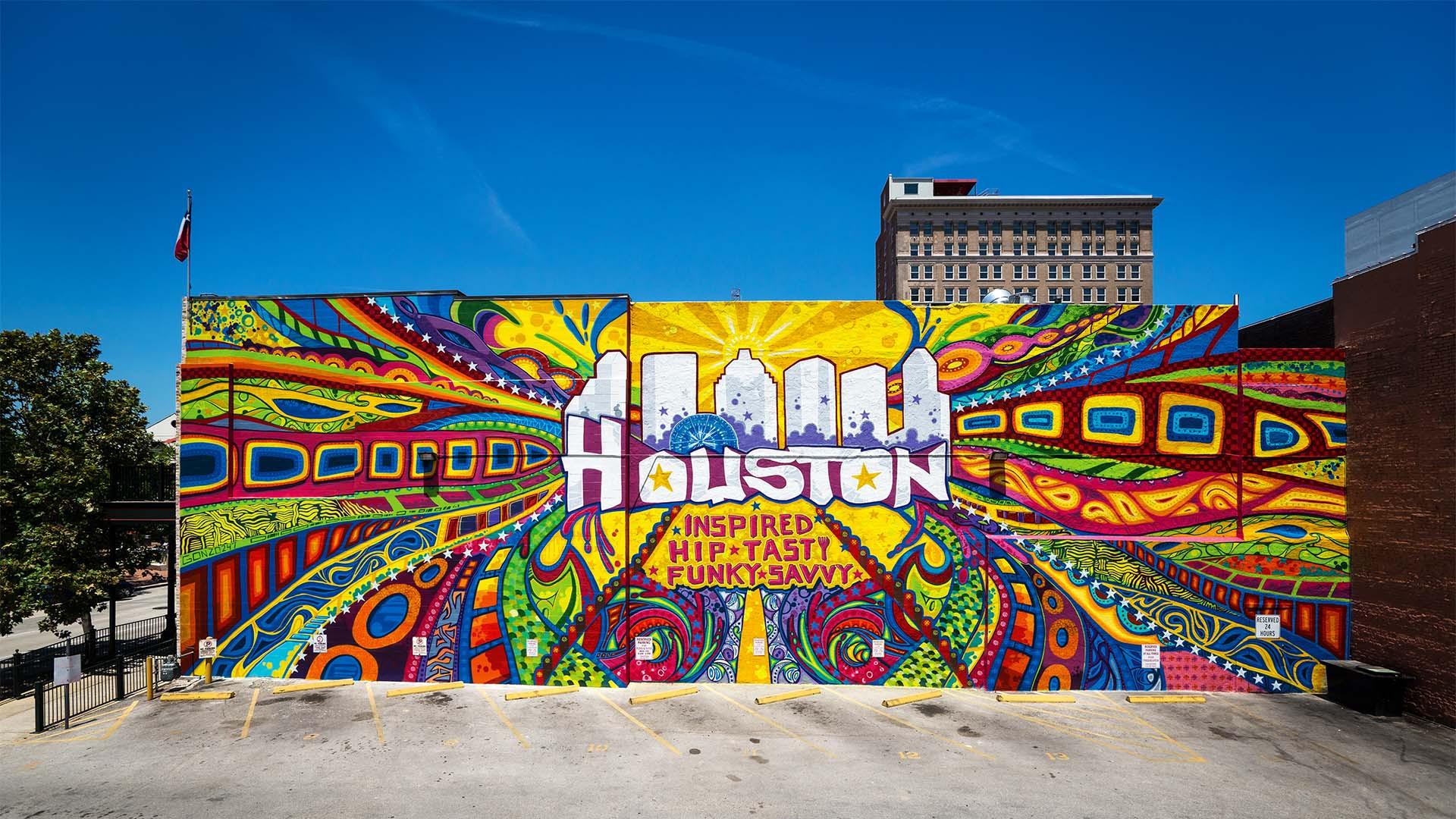 Street art in Houston, Texas